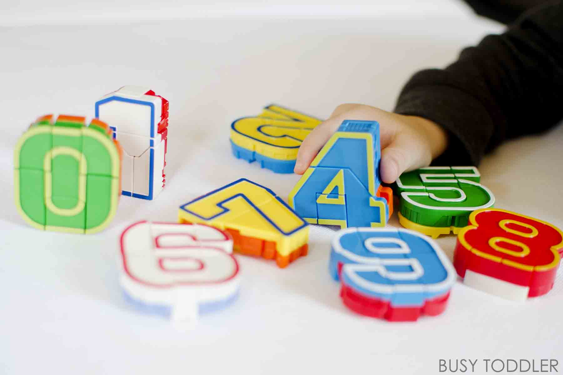 Playing with Numbers: Toys that Teach - Busy Toddler