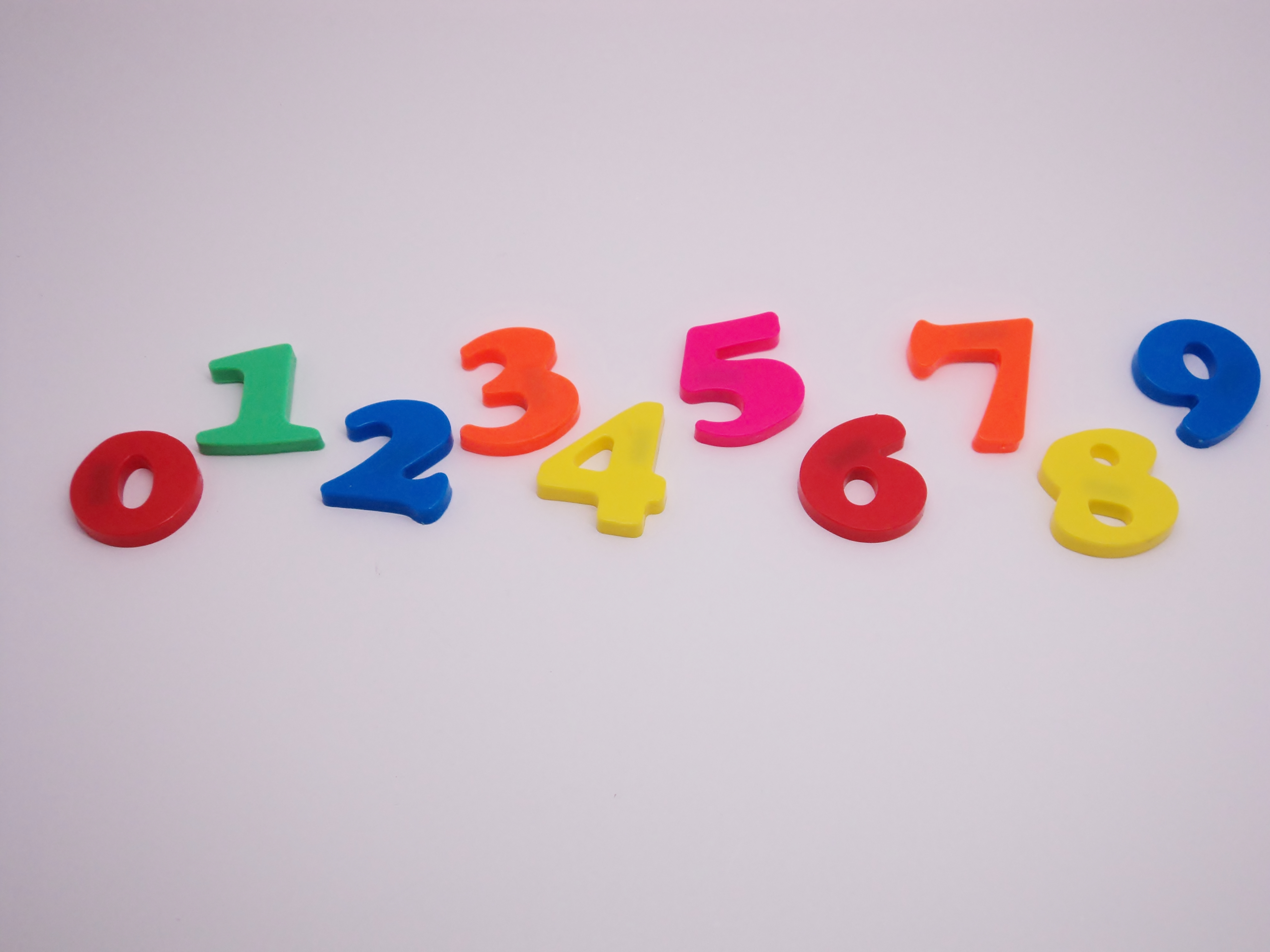 Toy Numbers, Colorful, Educational, Eight, Five, HQ Photo