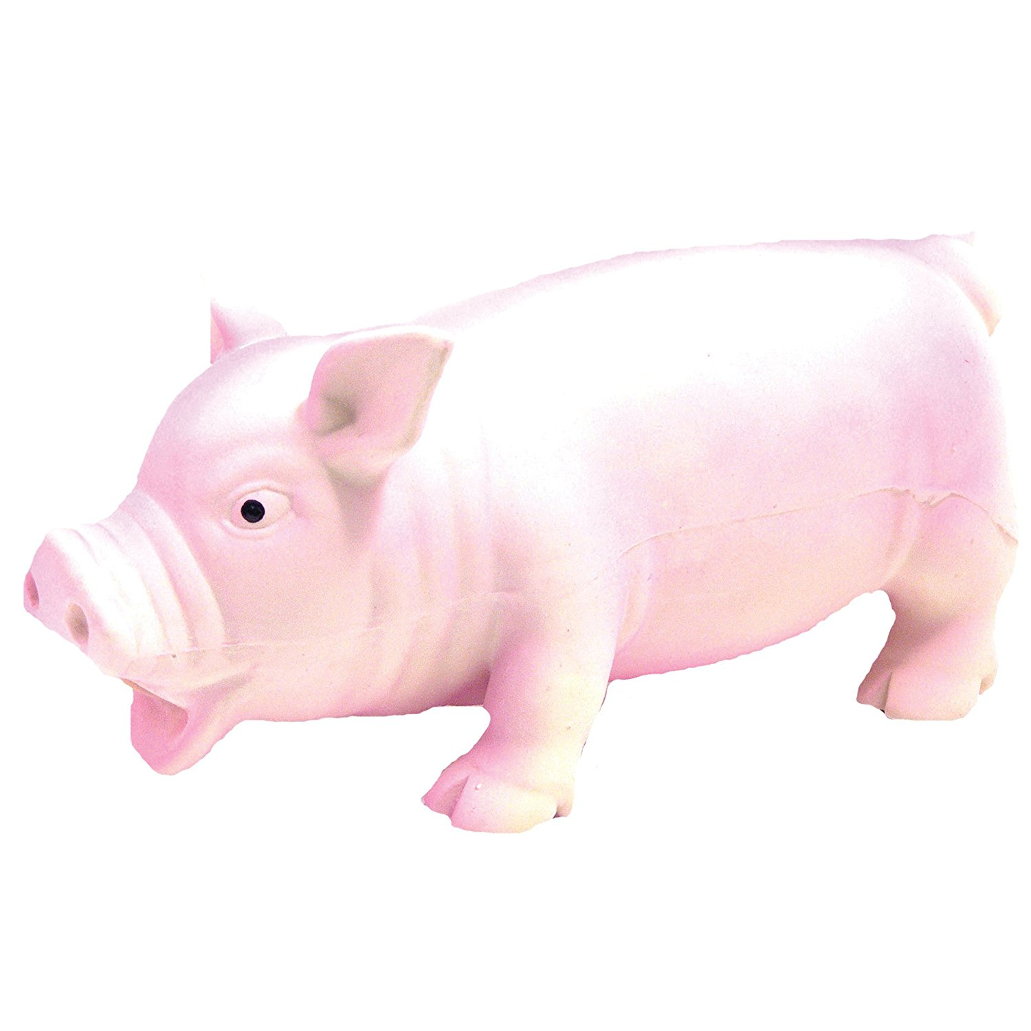 Pet Supplies : Pet Squeak Toys : Jolly Doggy Grunters Latex Pig ...
