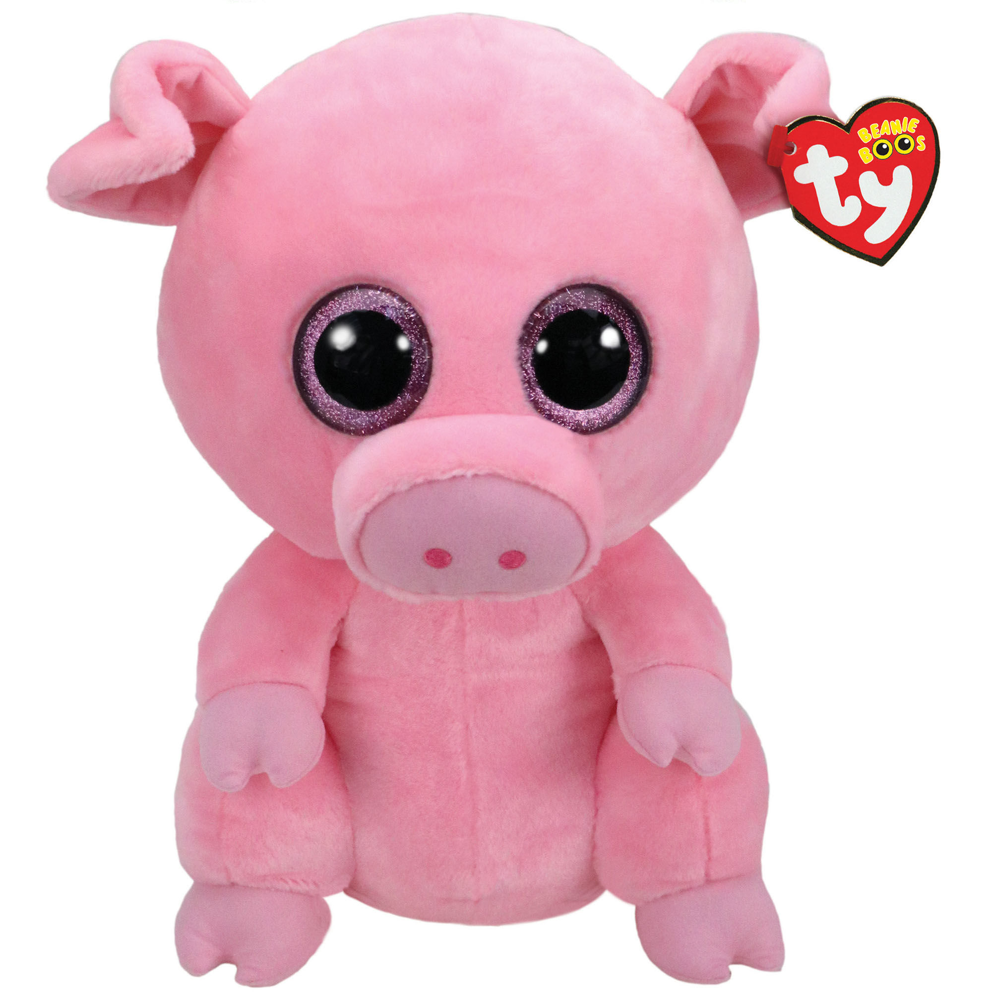 Ty Beanie Boo Large Posey the Pig Soft Toy | Claire's