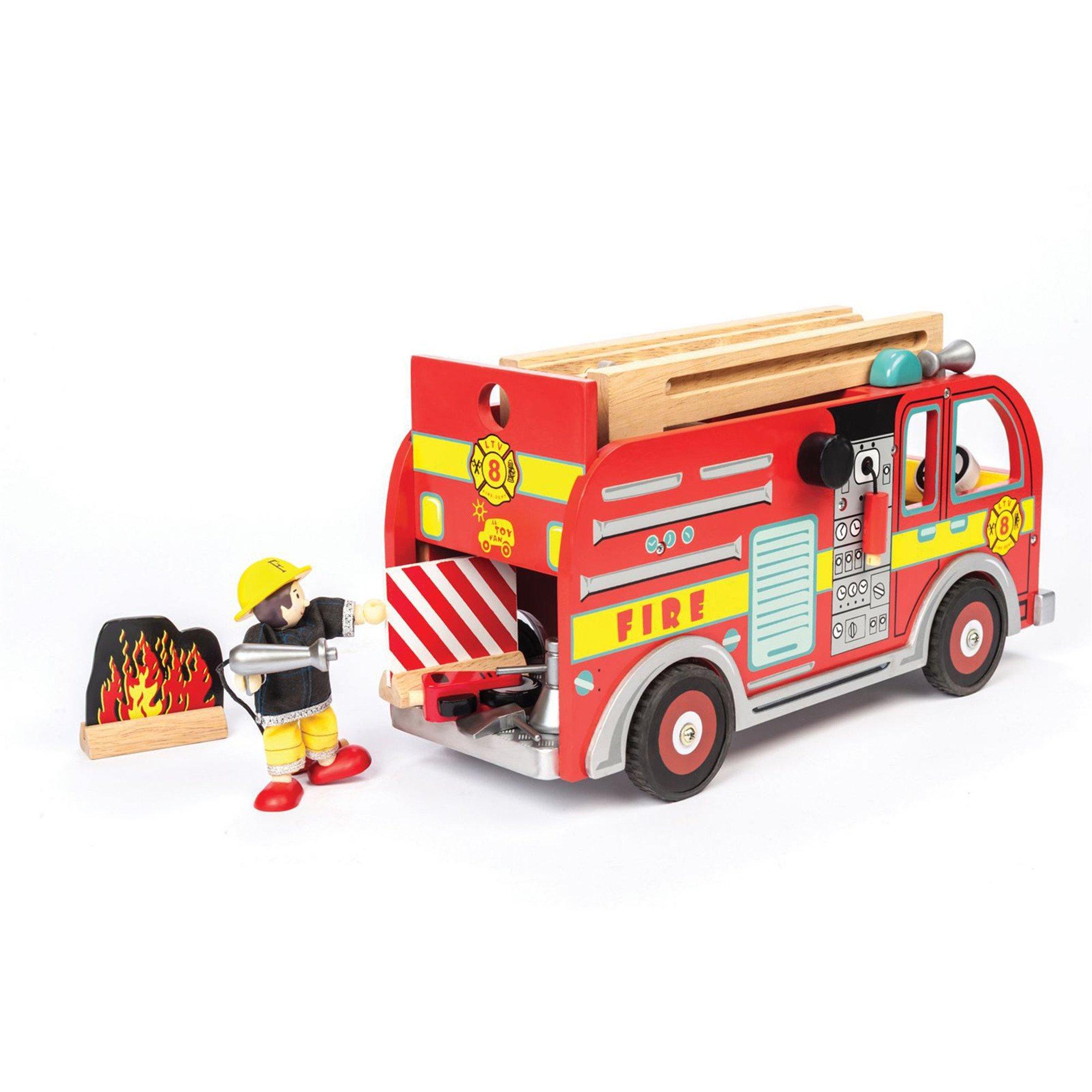 Le Toy Van Fire Engine Set - Little Earth Nest
