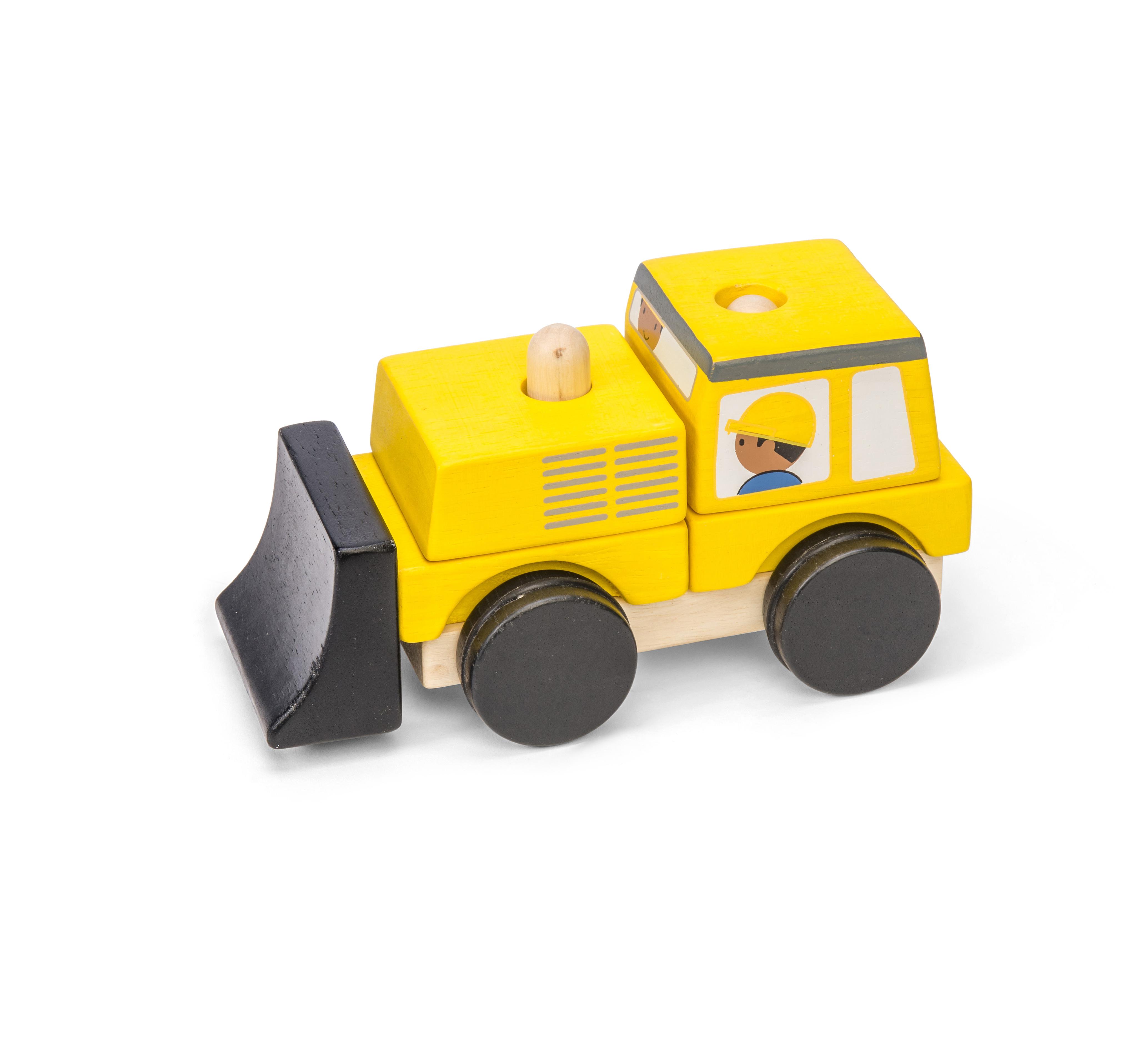 Le Toy Van Bulldozer Stacker