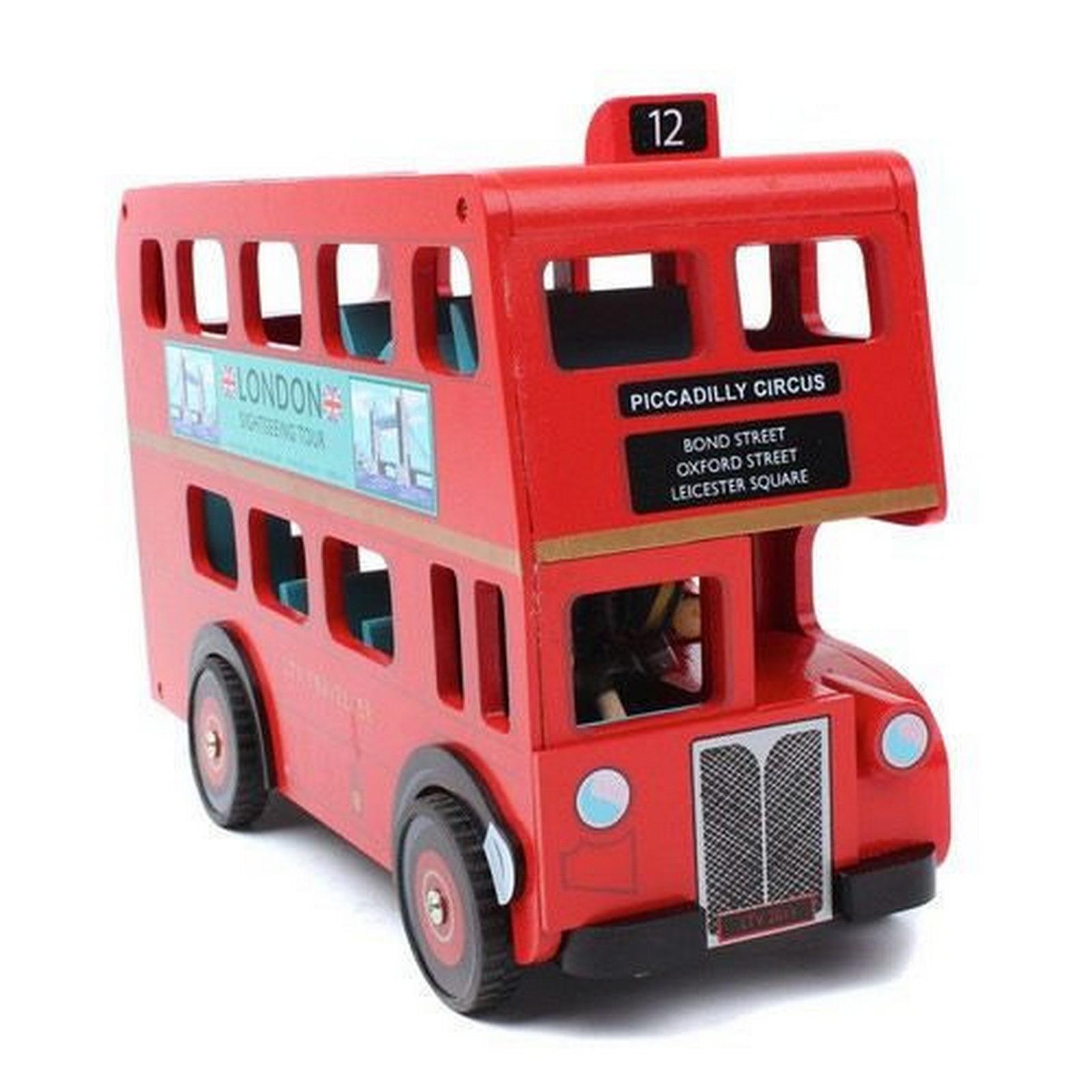 Le Toy Van London Bus with Driver - Jadrem Toys