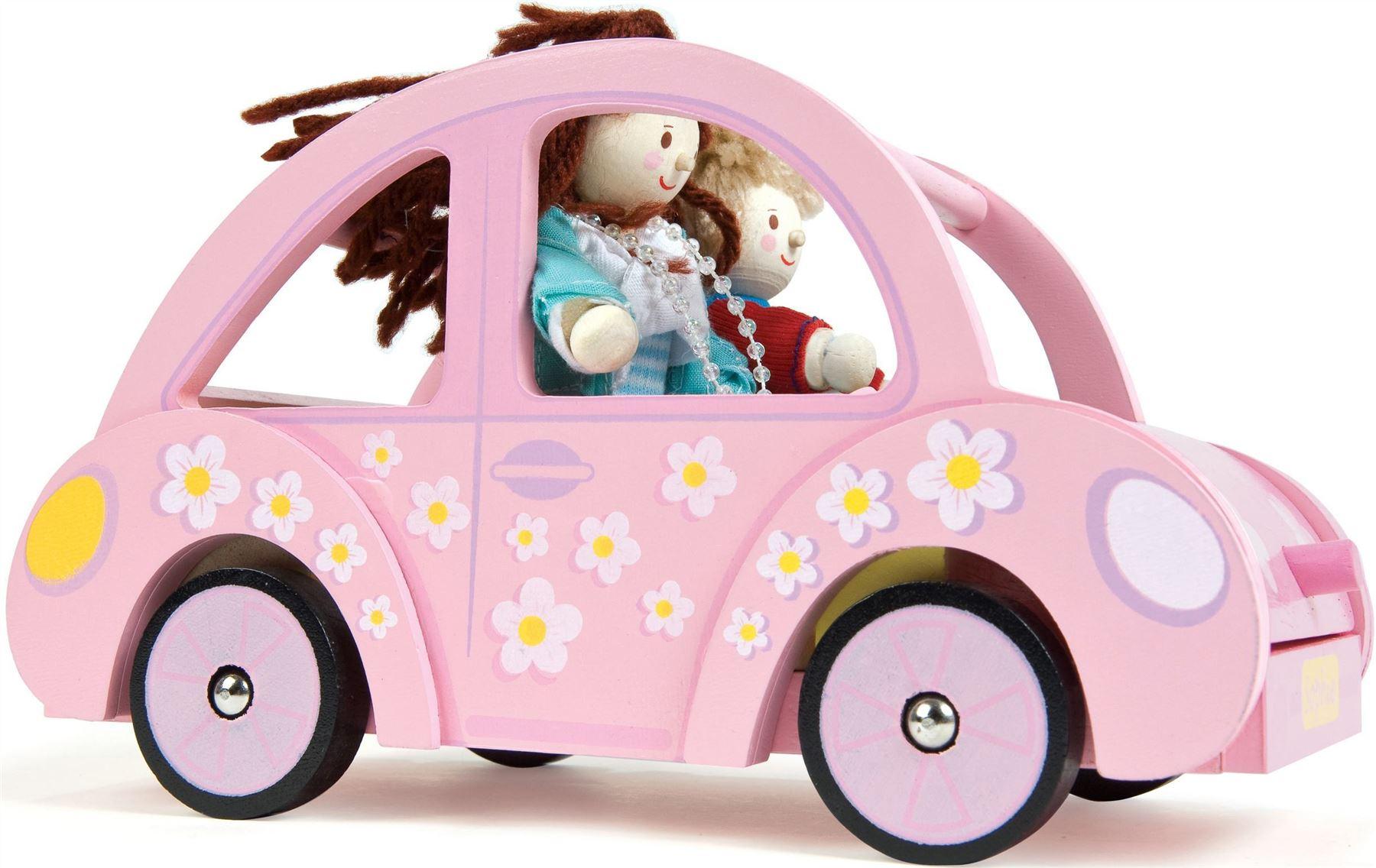Le Toy Van Sophie's Car Wooden Dolls House Accessory Kids BNIB ...