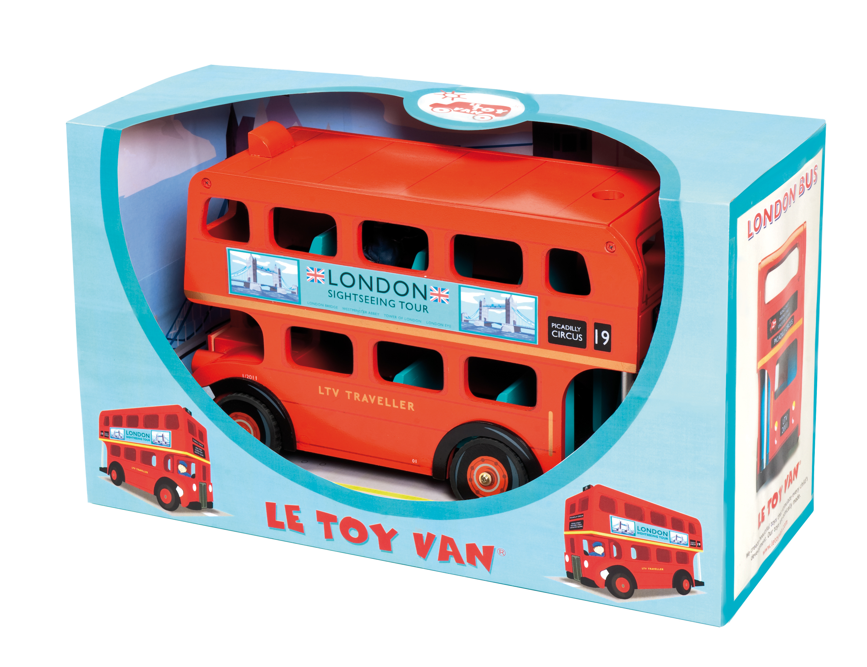 Le Toy Van London Bus with Driver - TV469 - £42.99