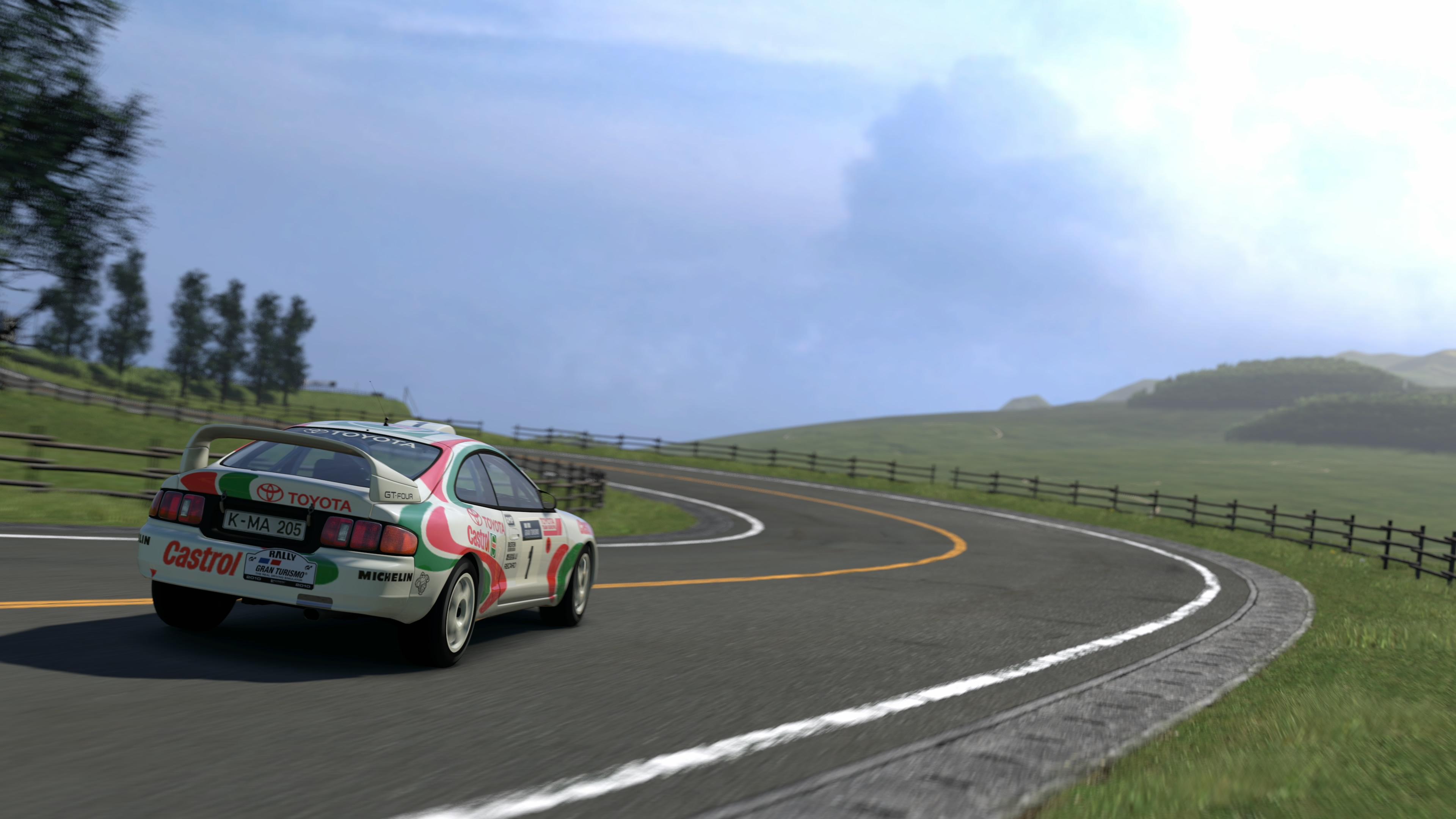 Toyota celica gt4 rally car photo