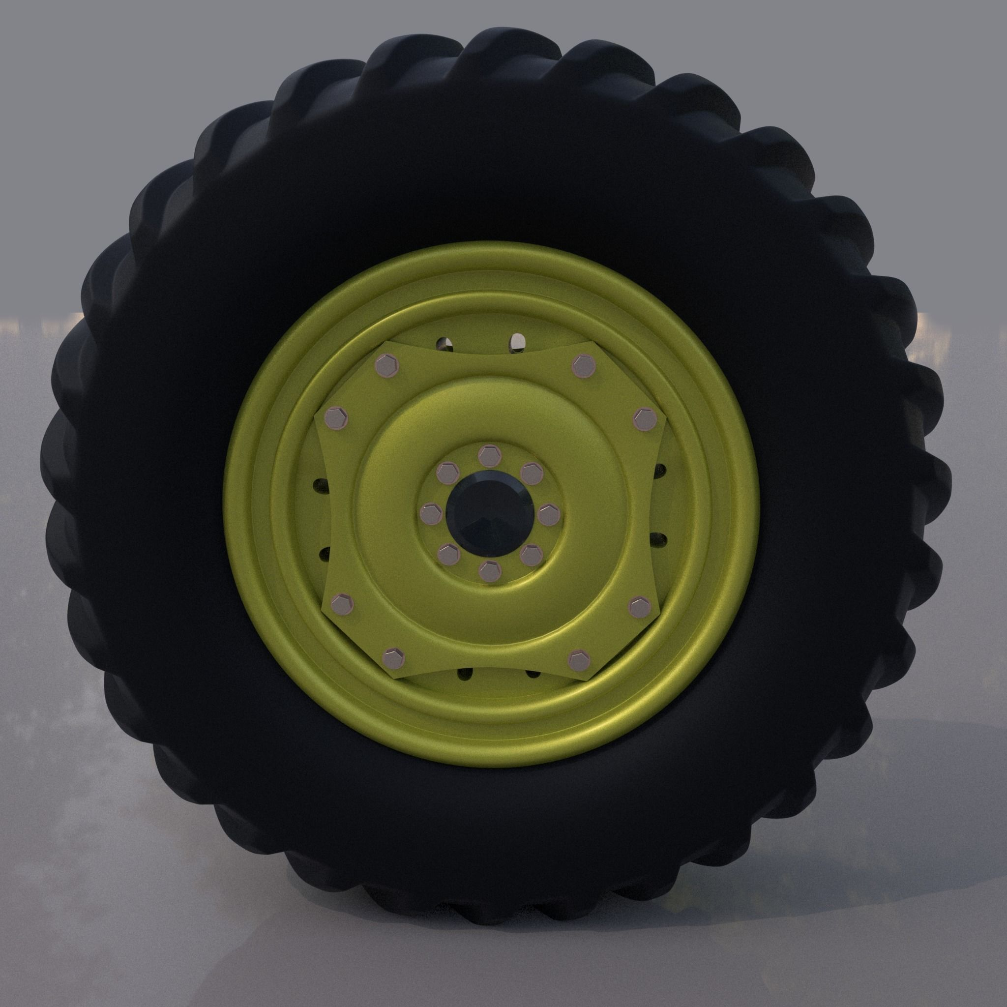 3D model Tractor tyre   CGTrader