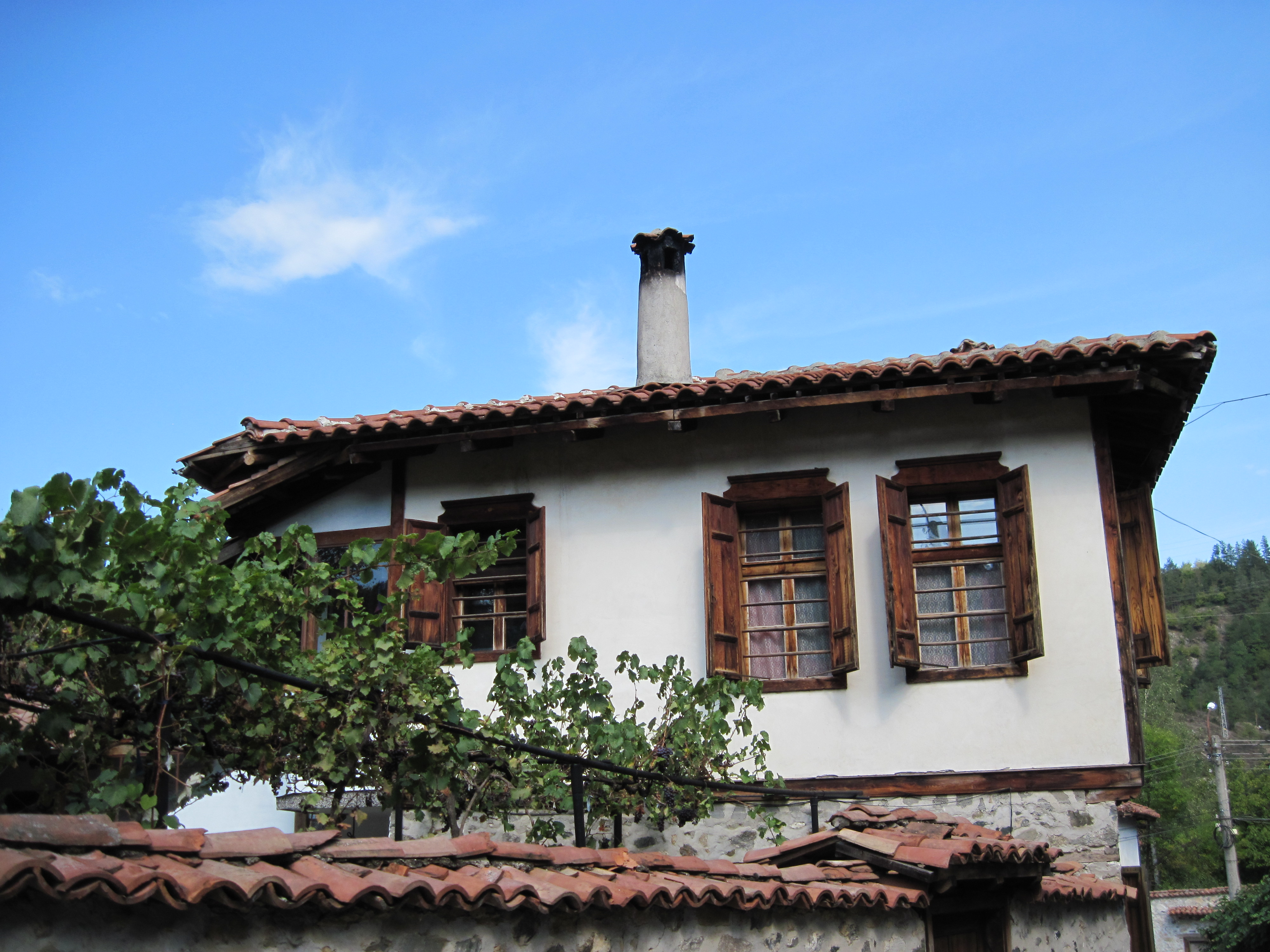 Traditional bulgarian house photo