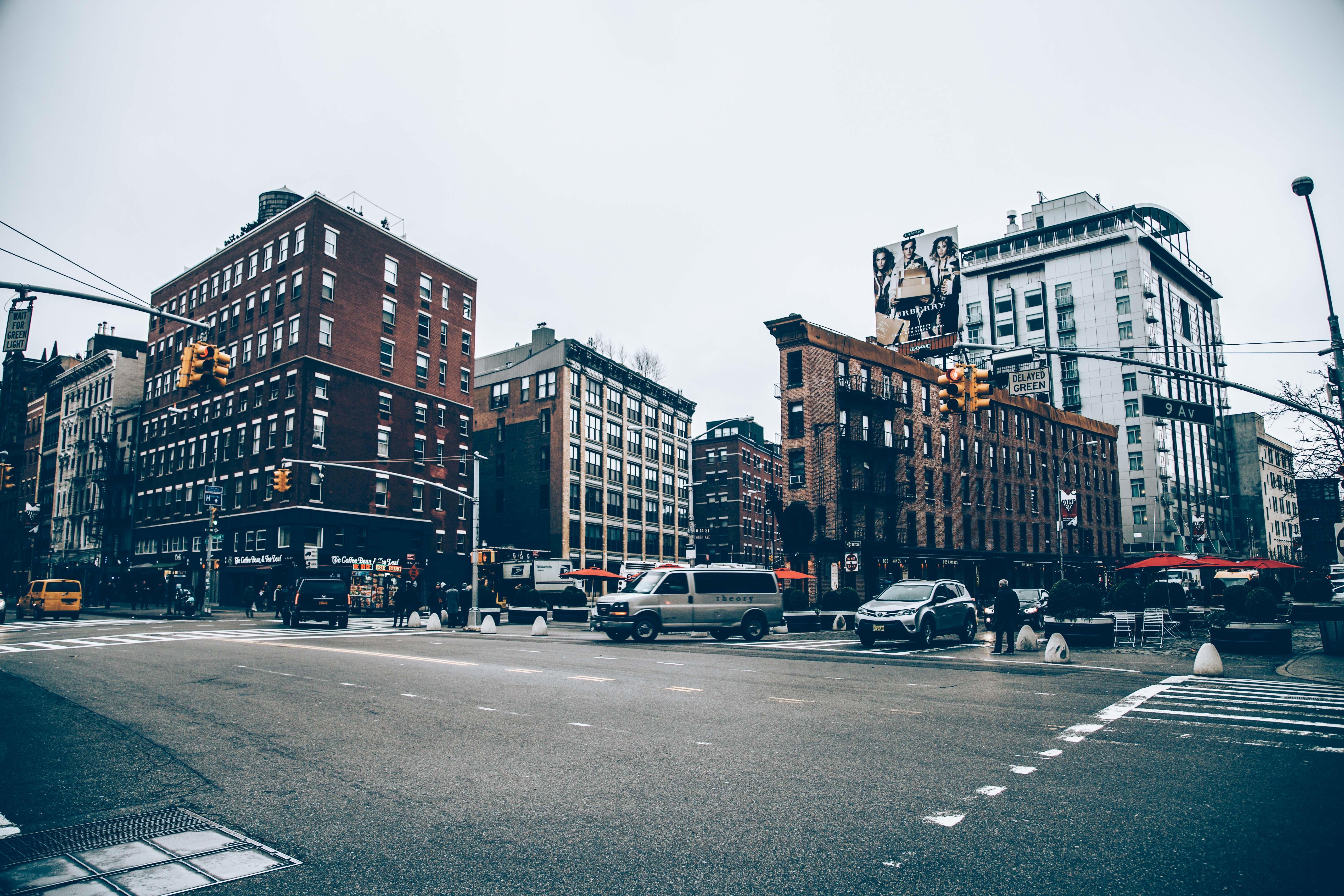 Traffic, Building, City, Construction, Road, HQ Photo