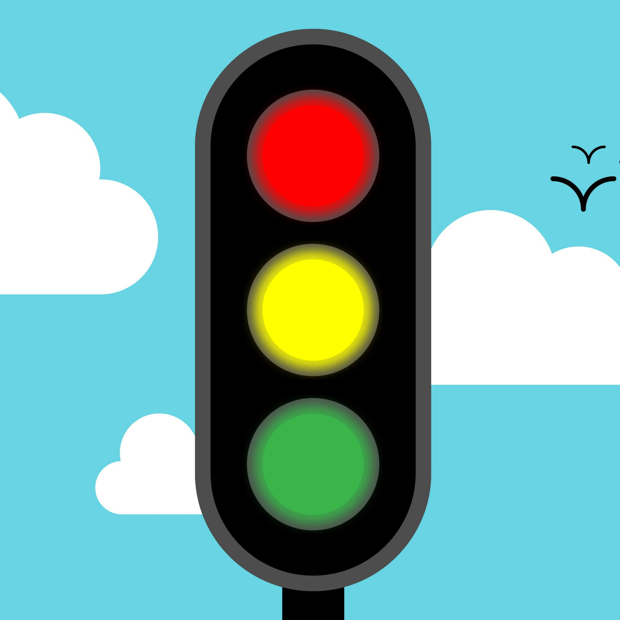 The Reason Traffic Lights Are Red, Yellow, and Green | Traffic light ...
