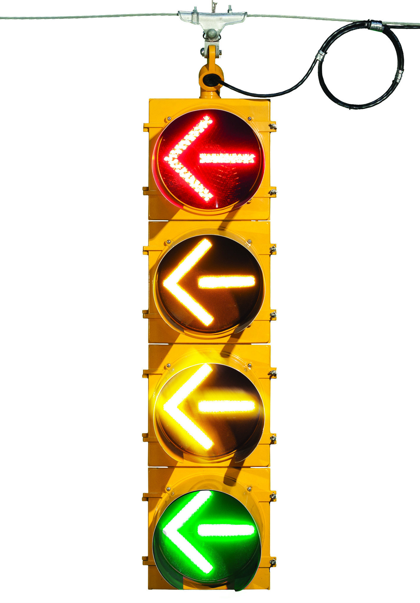 Alabama rolls out new-look traffic lights designed for easier left ...