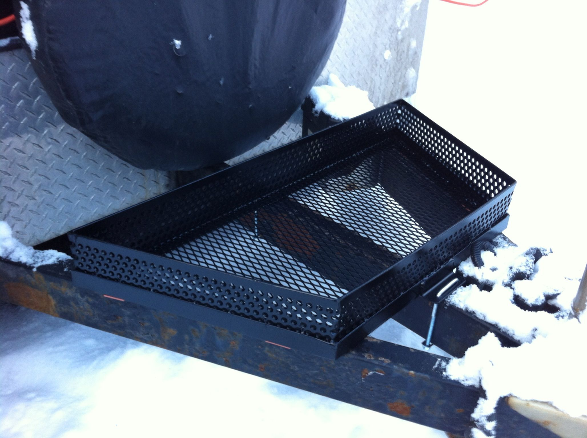 Trailer tongue basket | Custom Built Projects by TC Mike's Garage ...