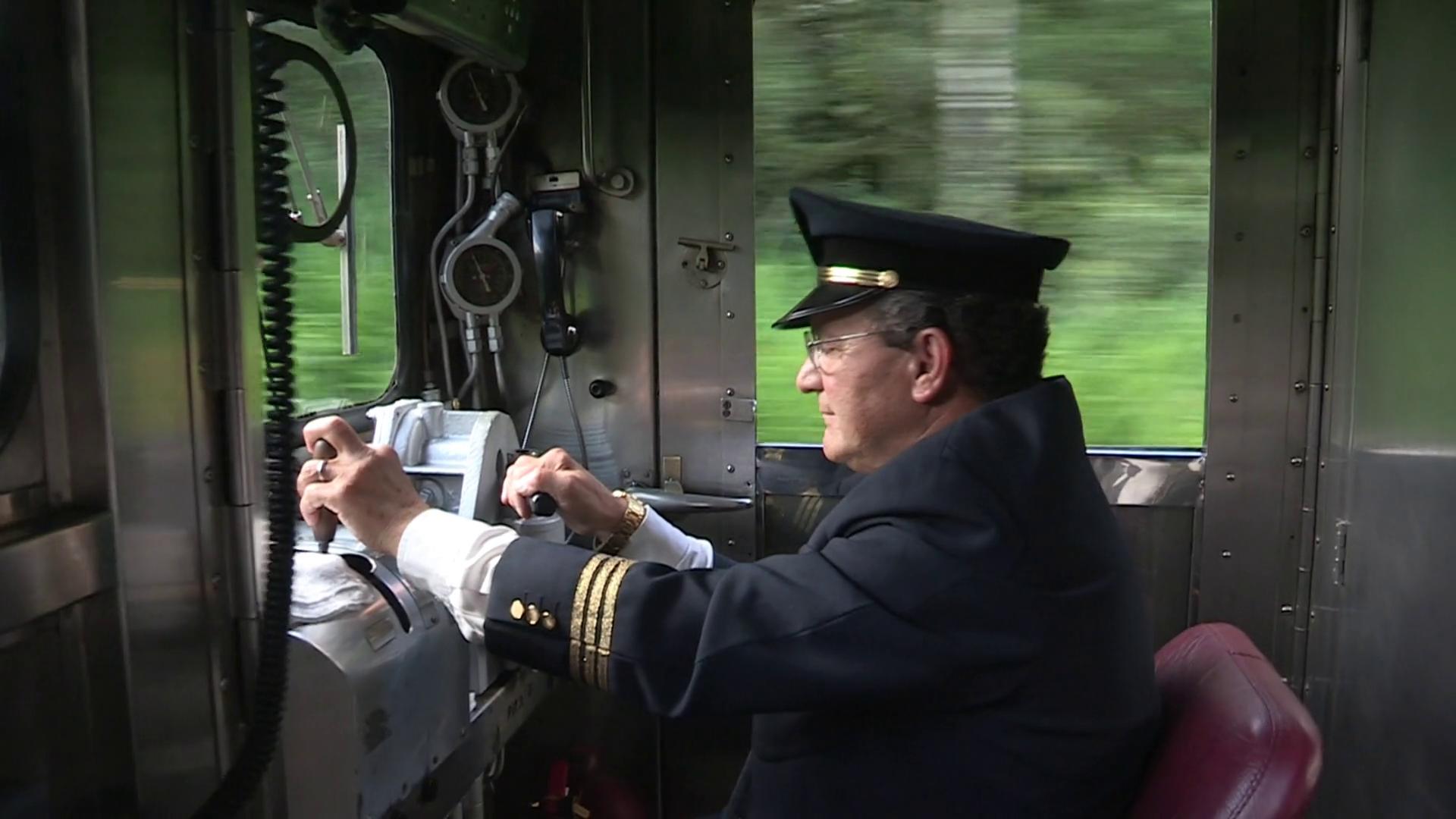 free photo  train conductor