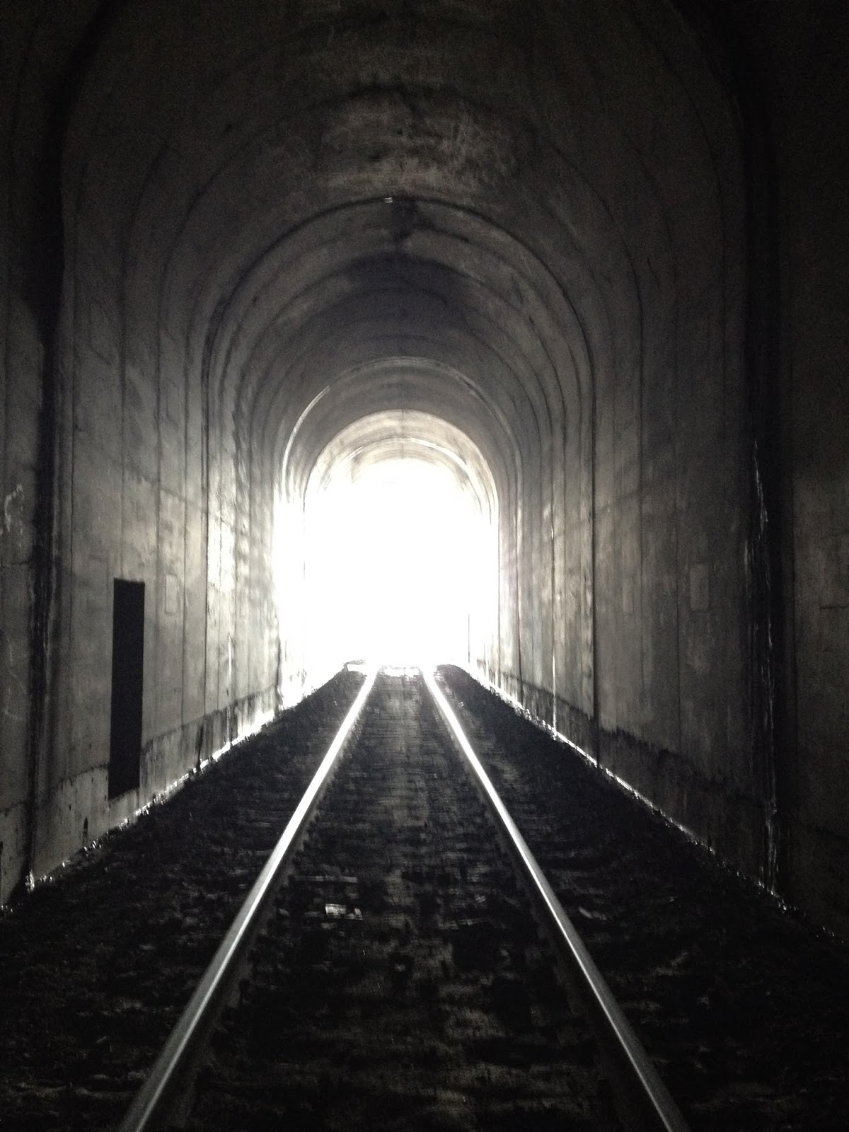 Iron Hiker: Winslow Train Tunnel