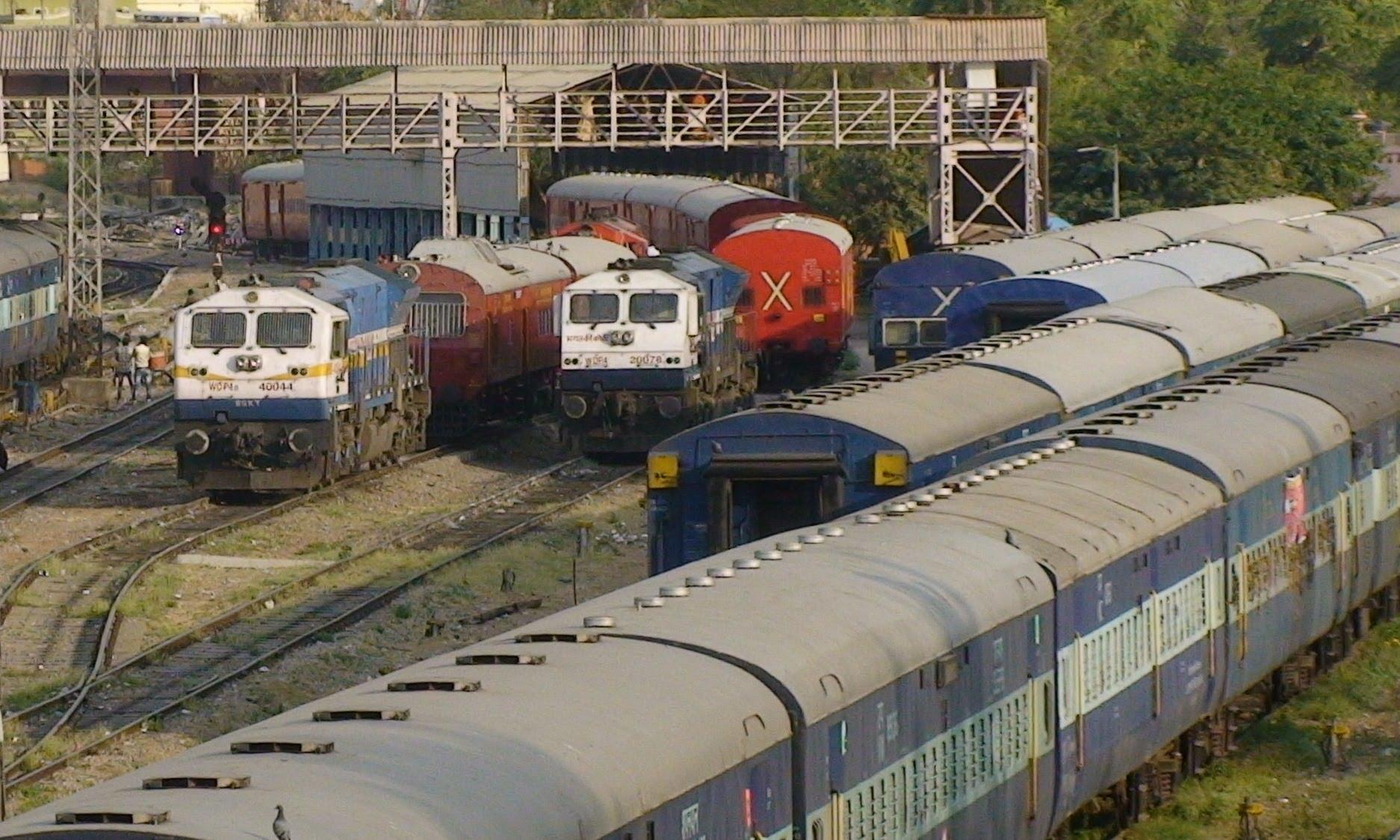 Train railways photo
