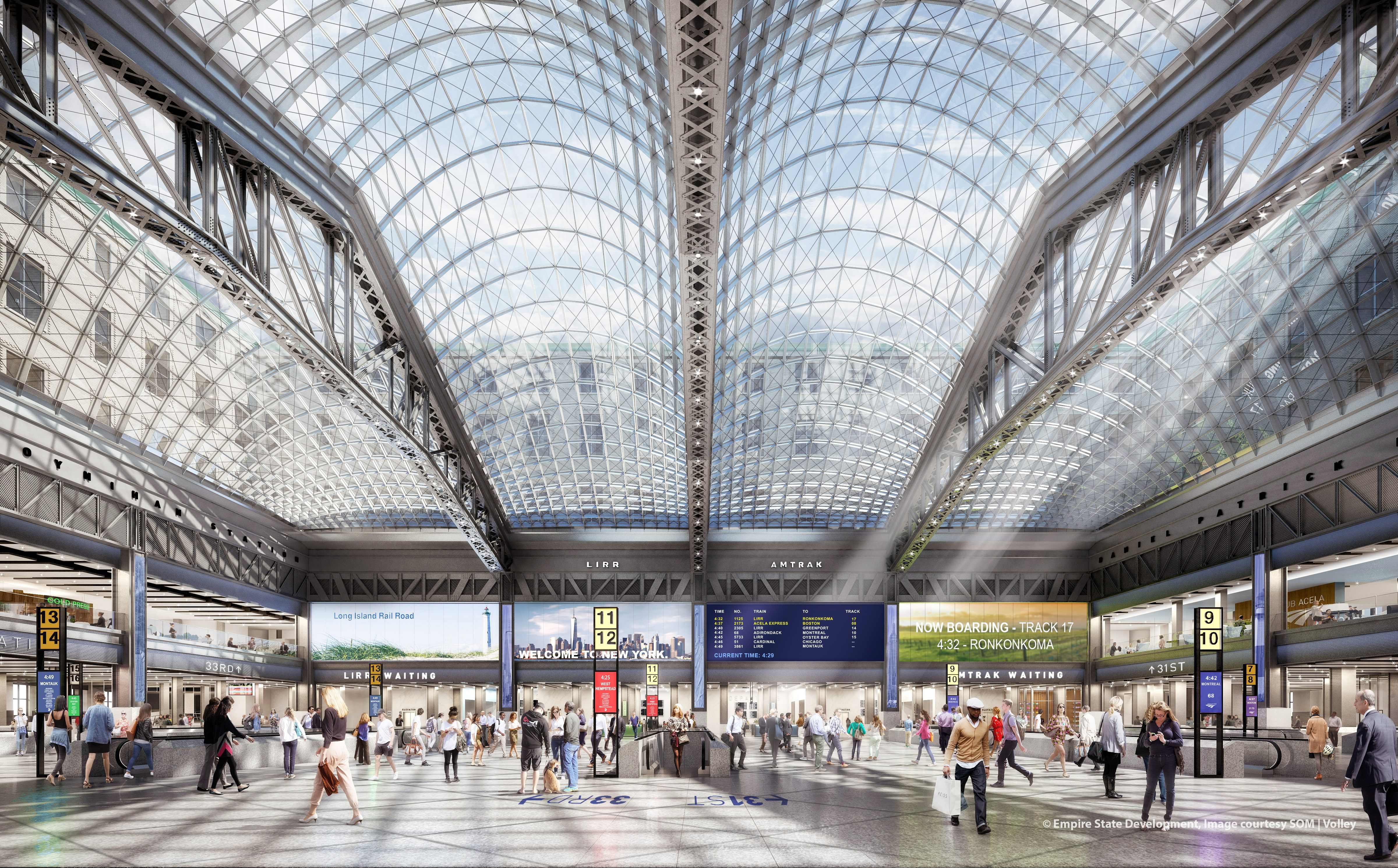 NYC's Ugliest Train Station Will Soon Look Like This | WIRED