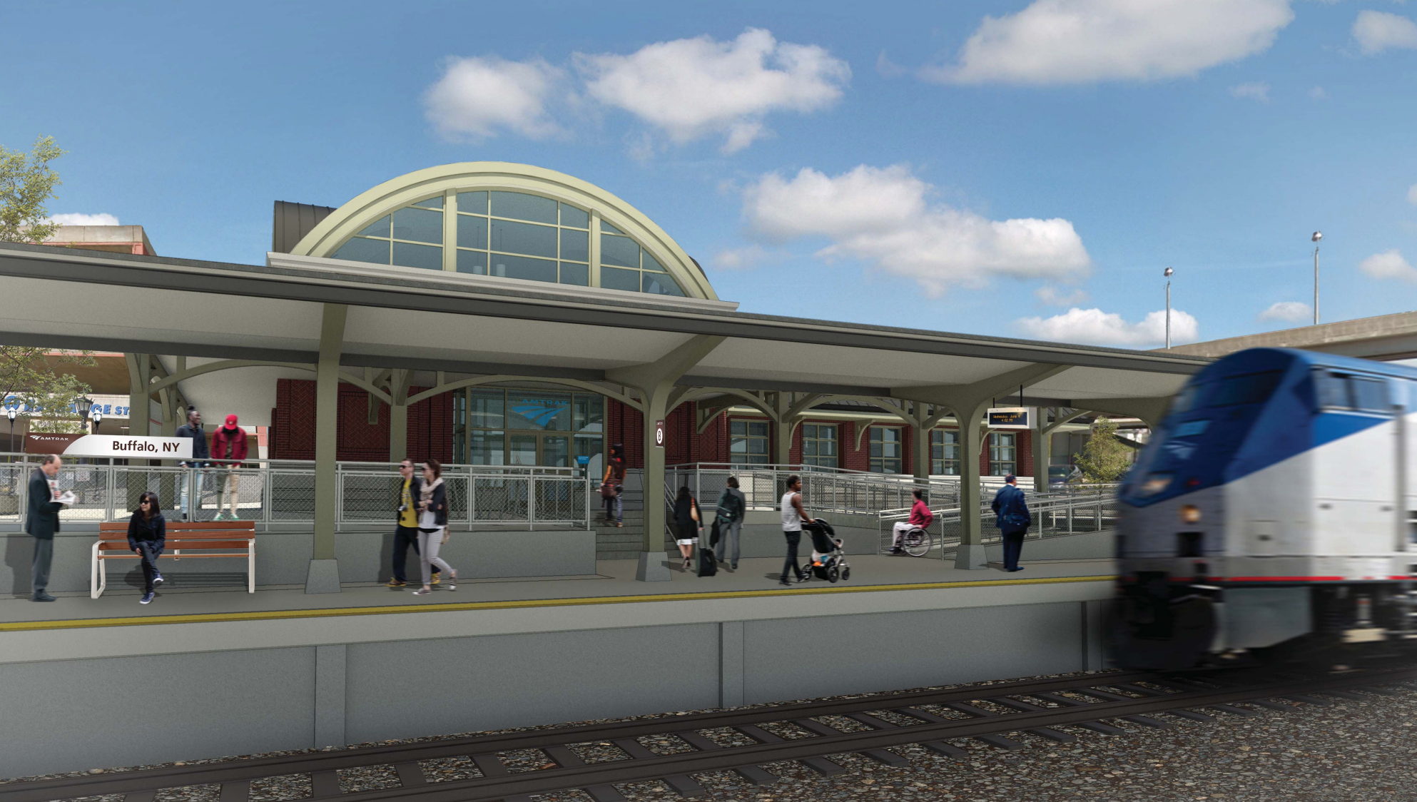 First Look: Train Station – Buffalo Rising