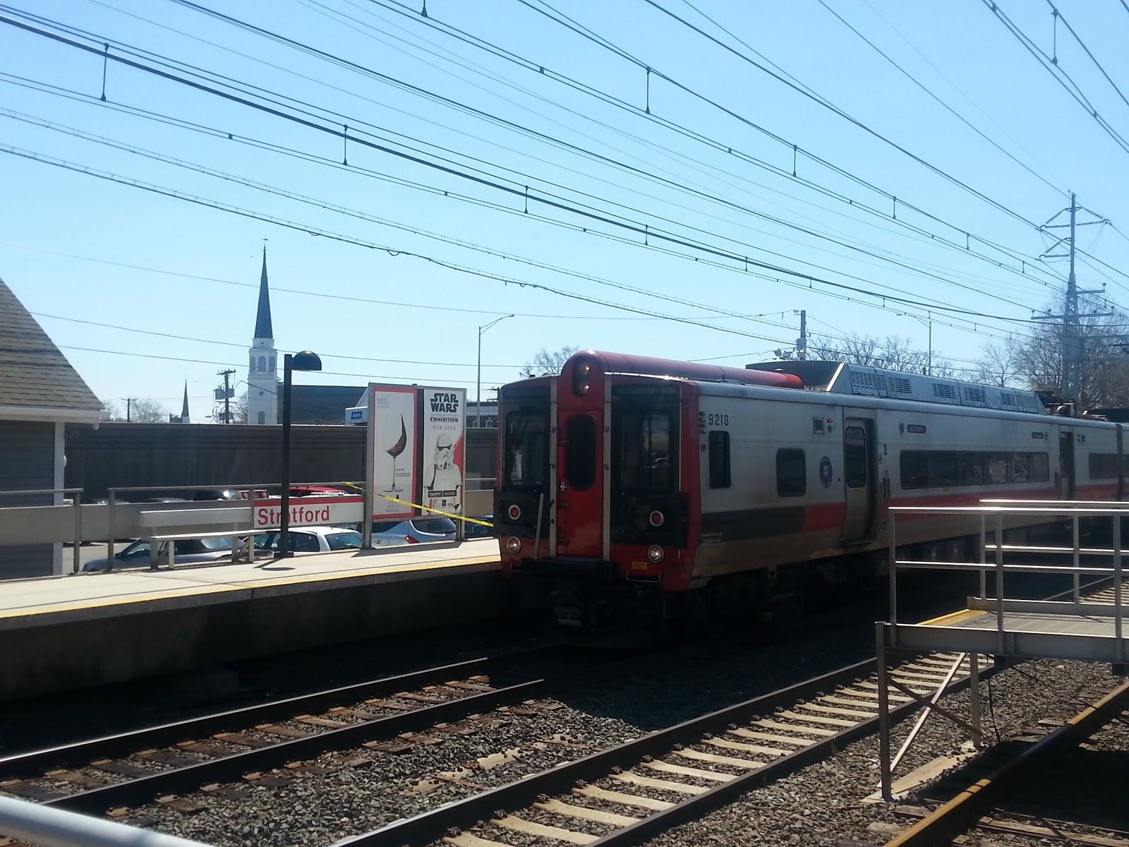 Man dies after being struck by train at Stratford train station