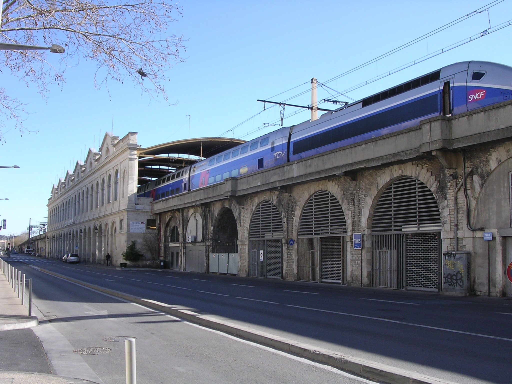 Nimes Train Station – BonjourLaFrance
