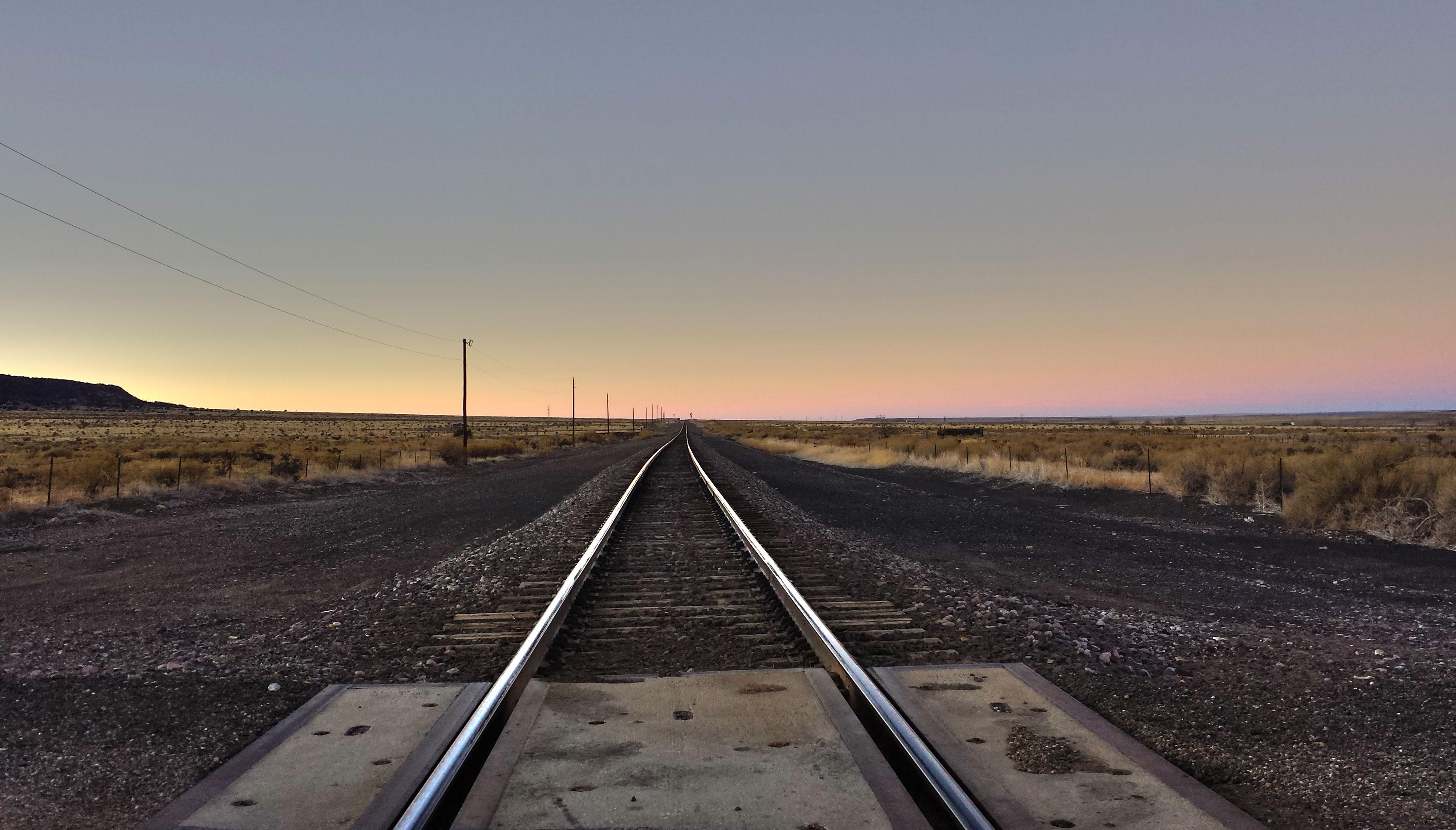 A View Down the Train Tracks - Photograph | Adam Endres
