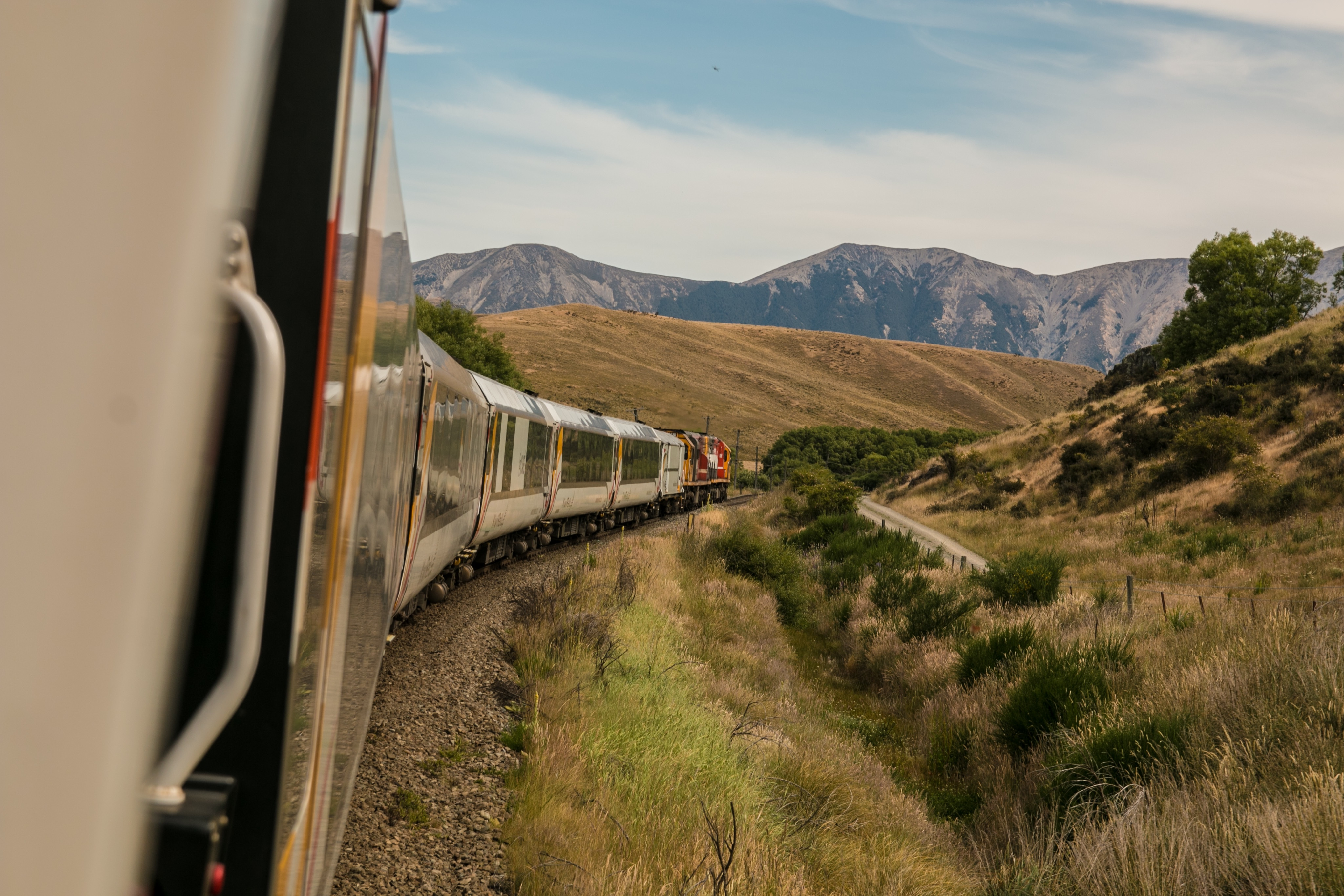 Train Travel, Train, Travel, Track, Mountain, HQ Photo