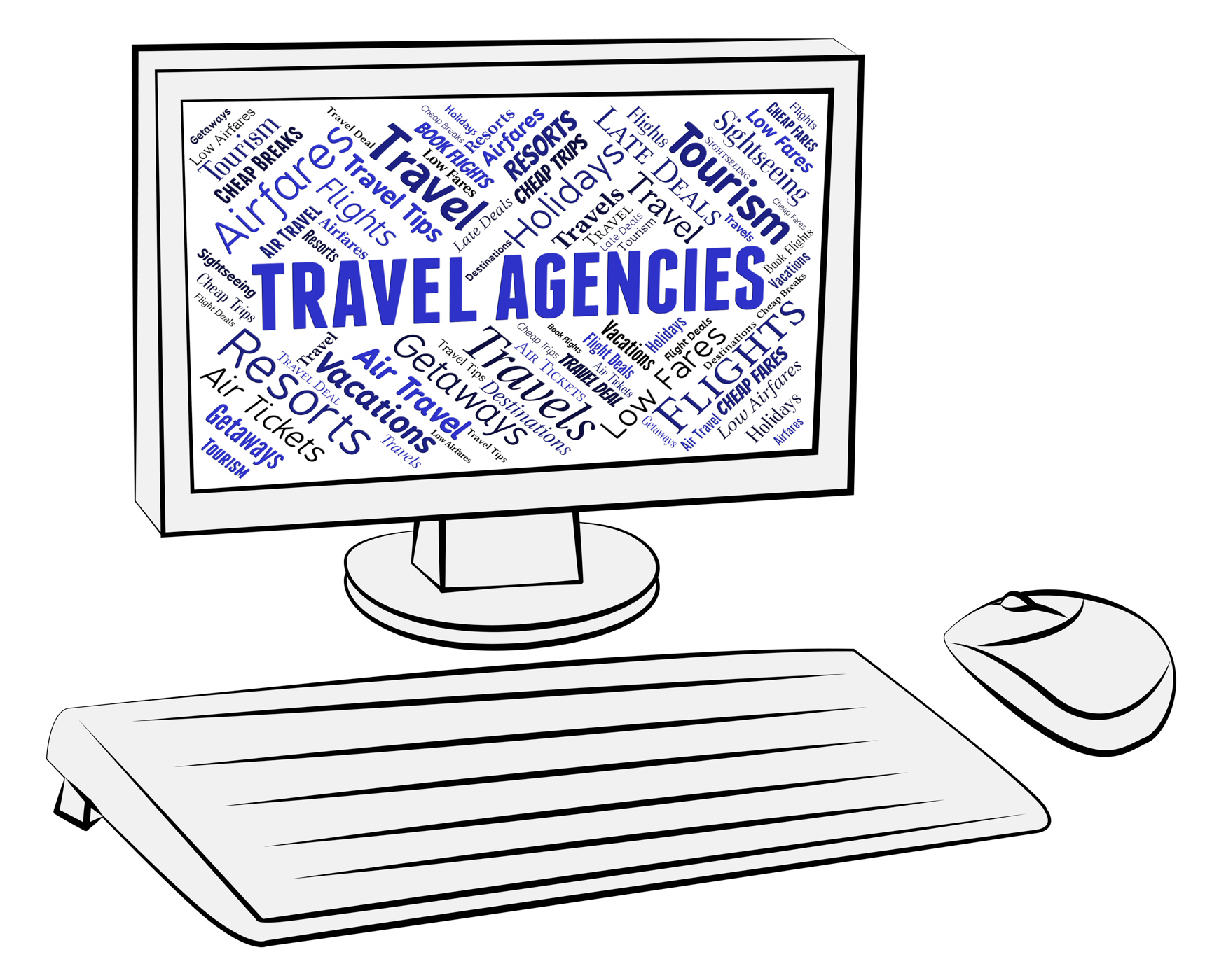 Travel Agencies Indicates Holiday Trips And Tours, Agencies, Service, Vacationing, Vacational, HQ Photo
