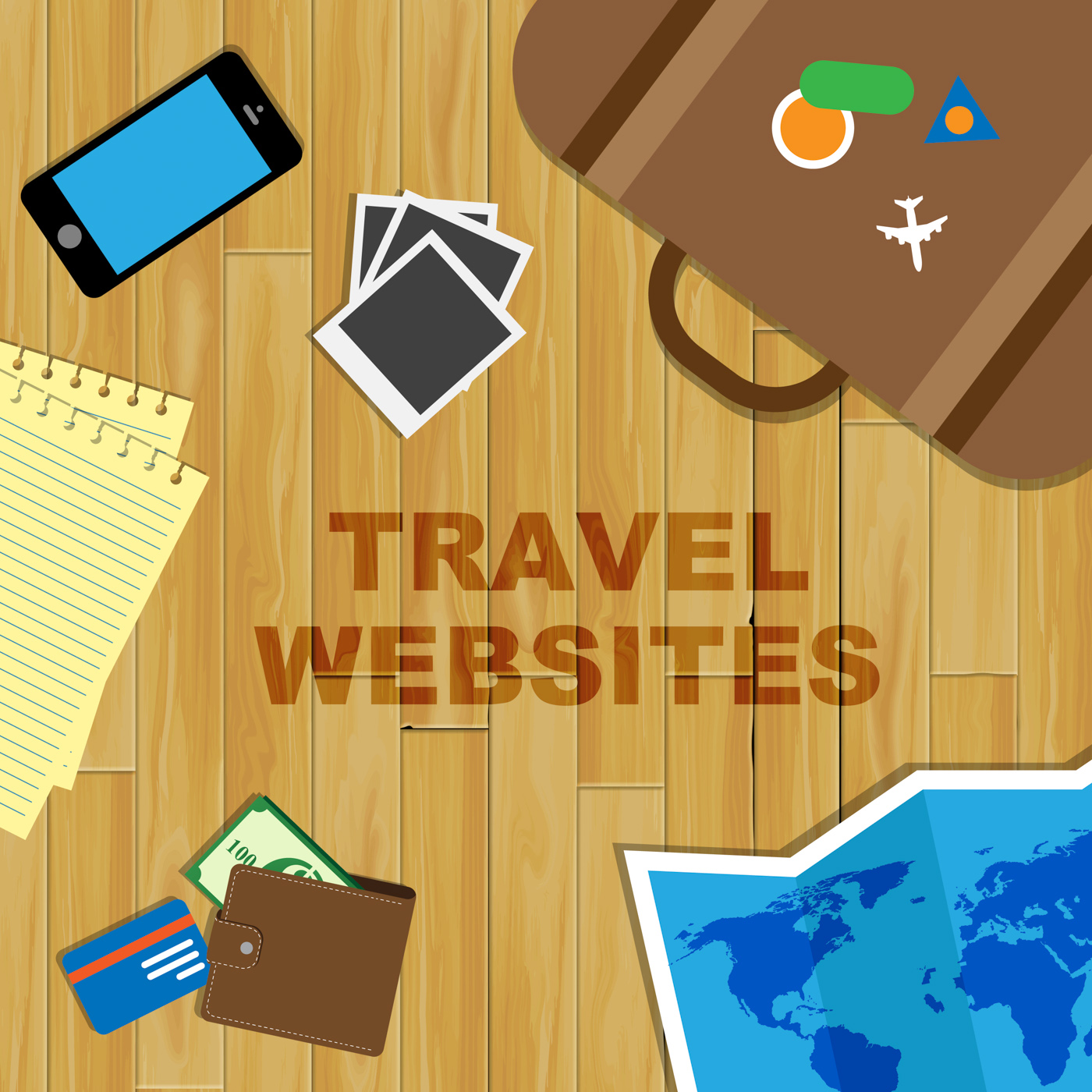 Travel websites indicates tours explore and journey photo