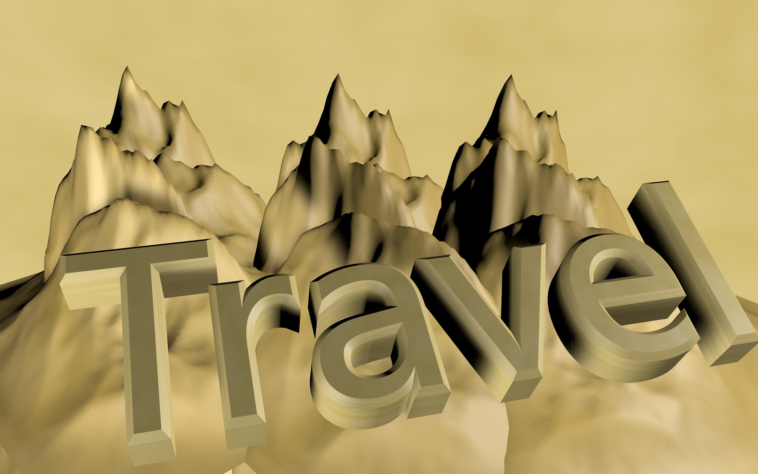 Travel, 3drender, 3dtext, Adventure, Hiking, HQ Photo