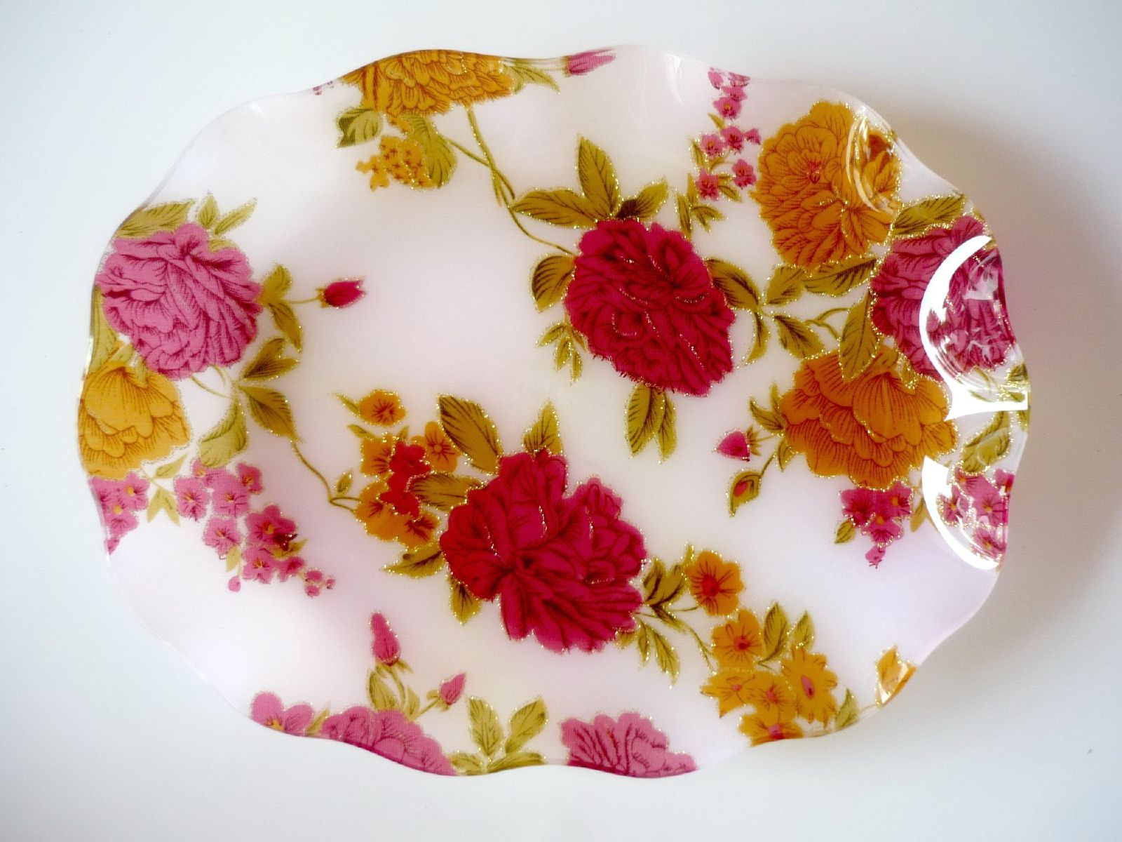 Tray, Flowers, Household, Item, Object, HQ Photo