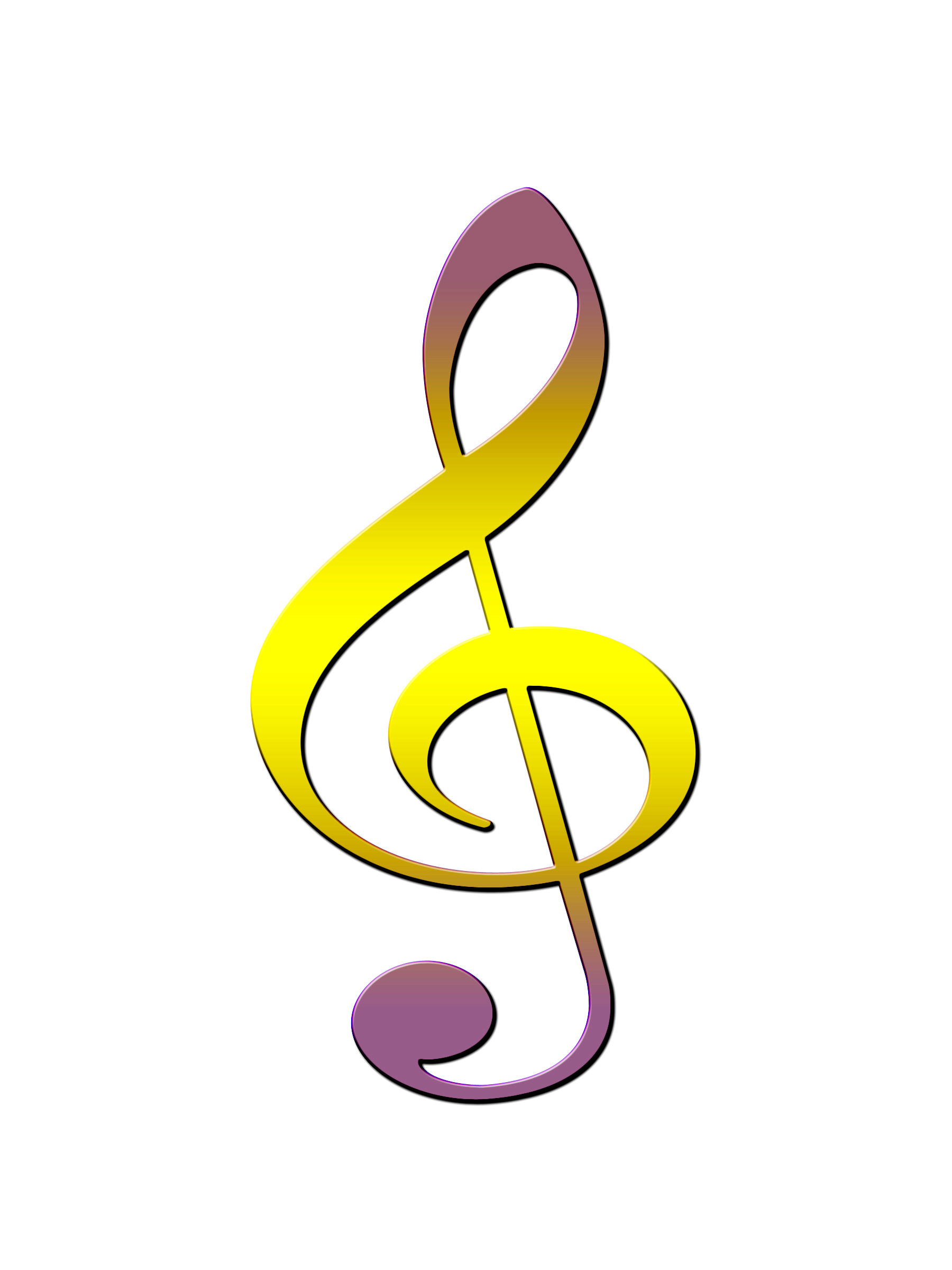 Free photo: Treble Clef - treble, notation, musical - Non-Commercial ...