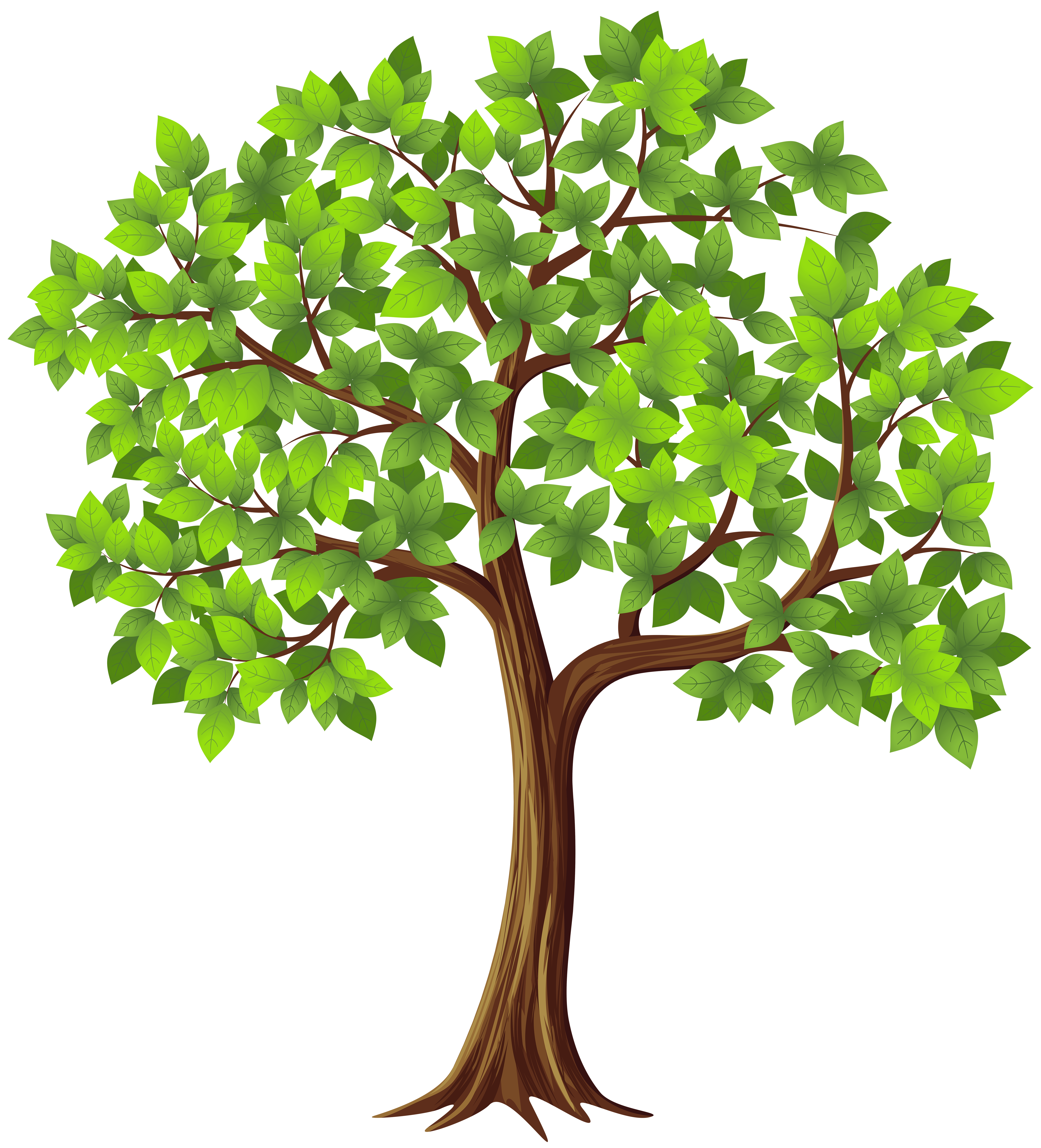 Tree PNG Transparent Clip Art Image   Gallery Yopriceville - High ...