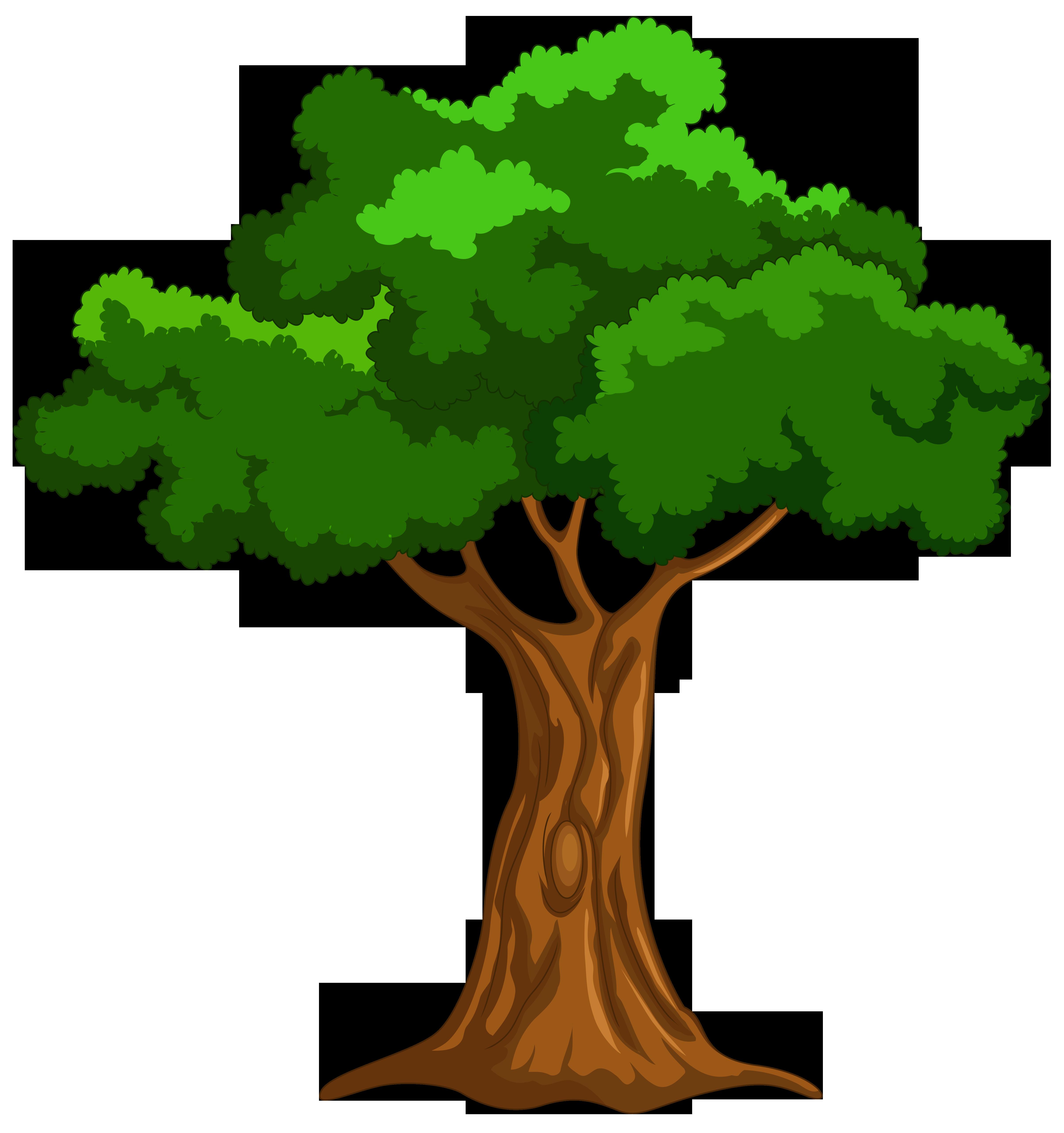 Cartoon Tree PNG Clip Art - Best WEB Clipart