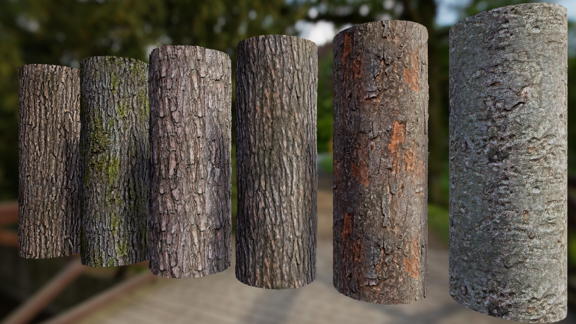 Tree Bark Materials by nabi163 in Materials - UE4 Marketplace