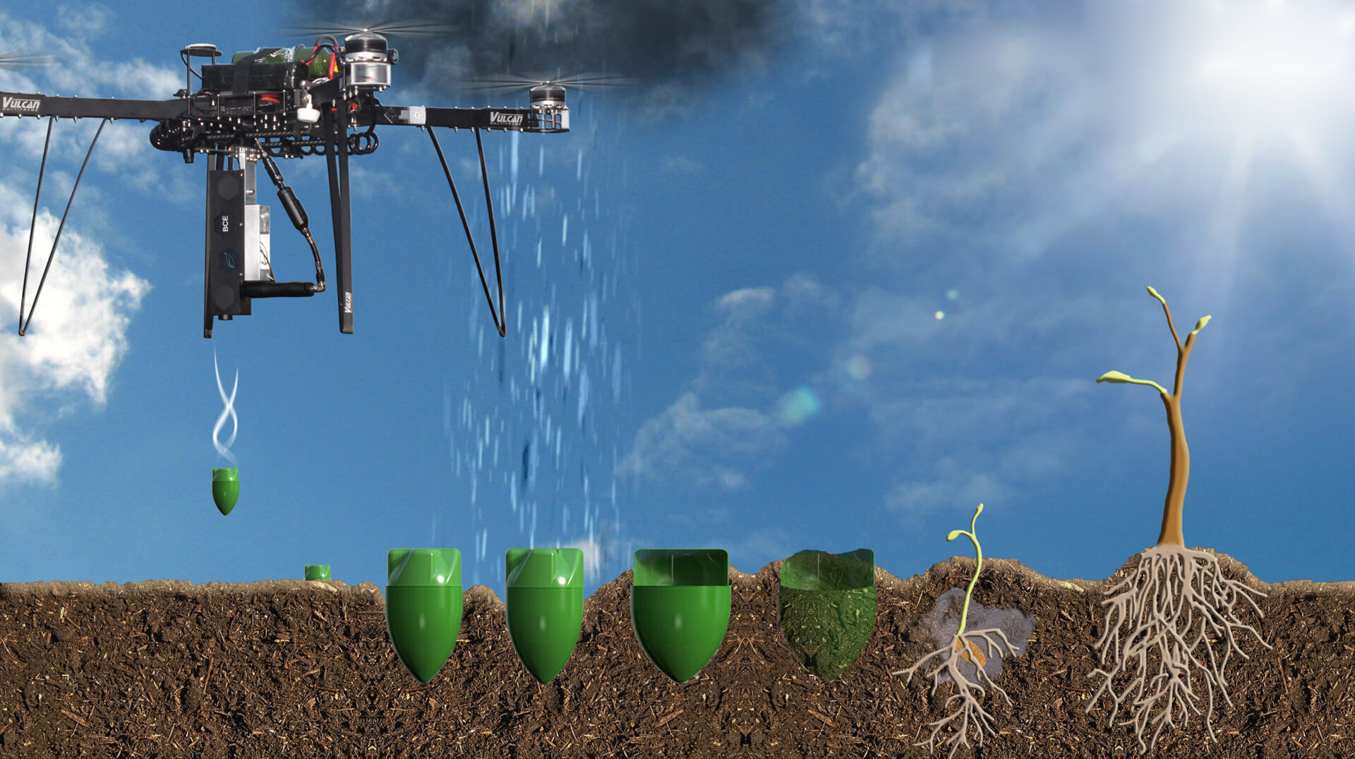 New tree-planting drones can plant 100,000 trees in a single day ...