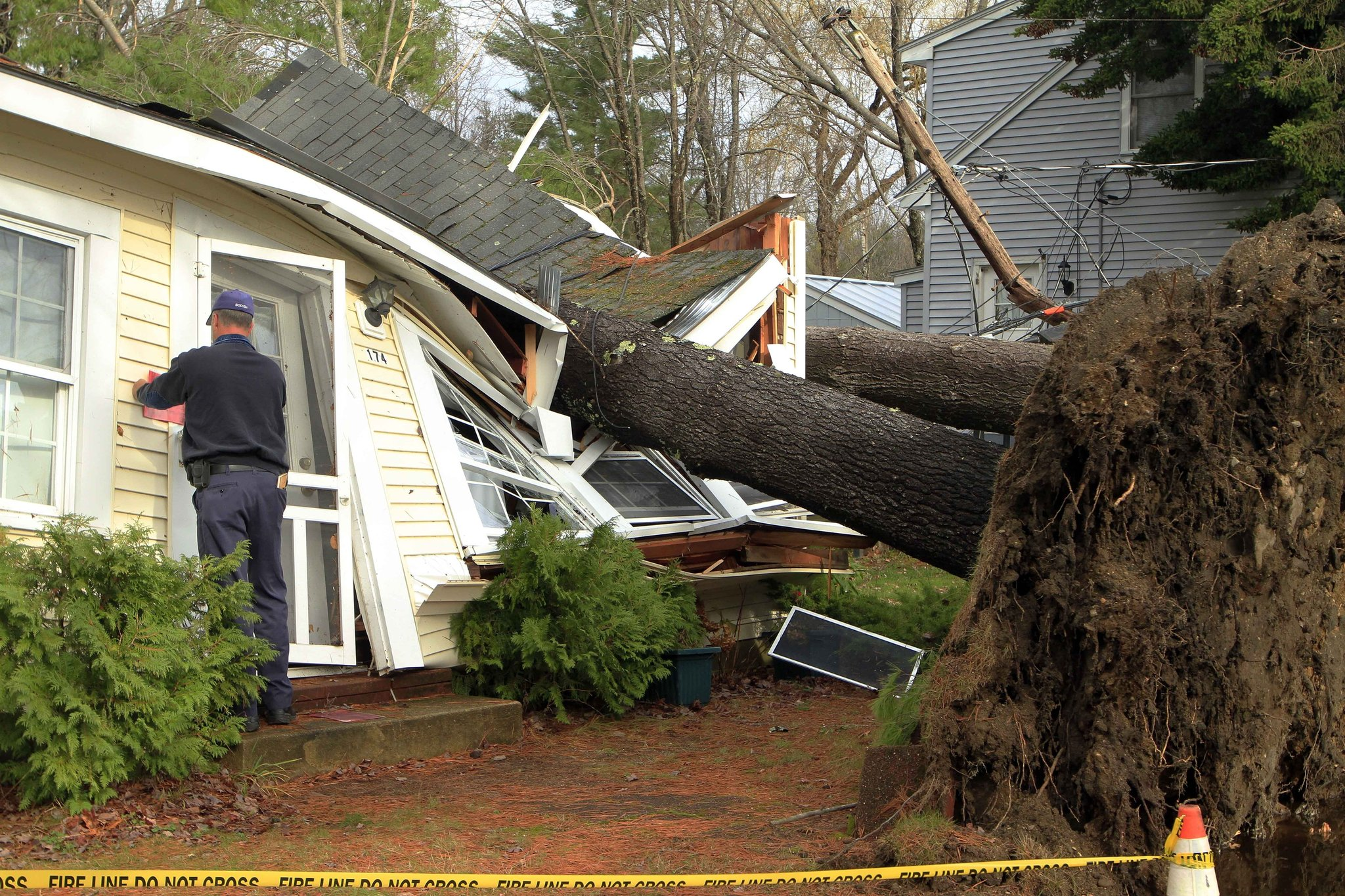 Storms Topple New England Trees, and Raise Fears - The New York Times