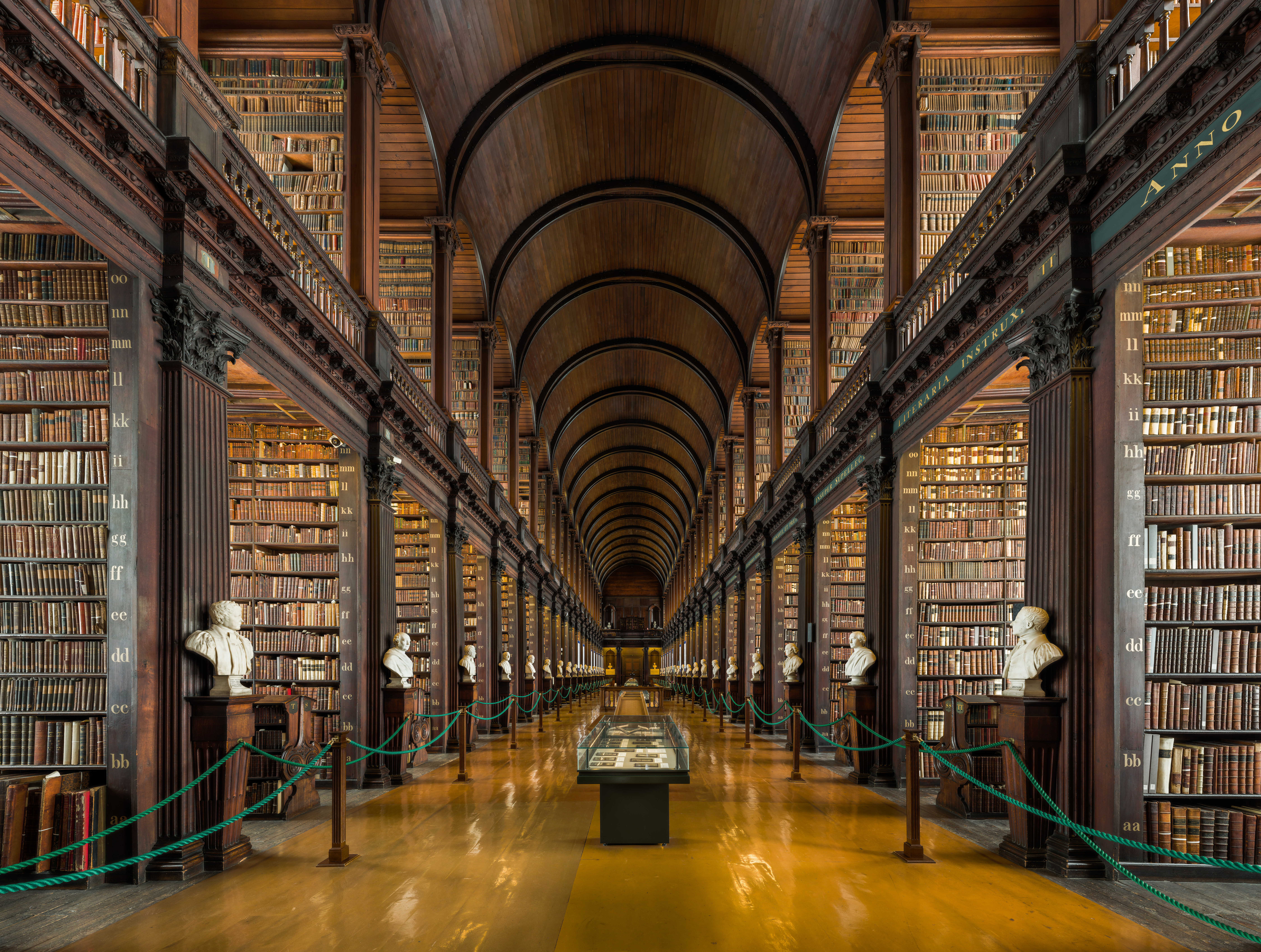 Trinity college library photo