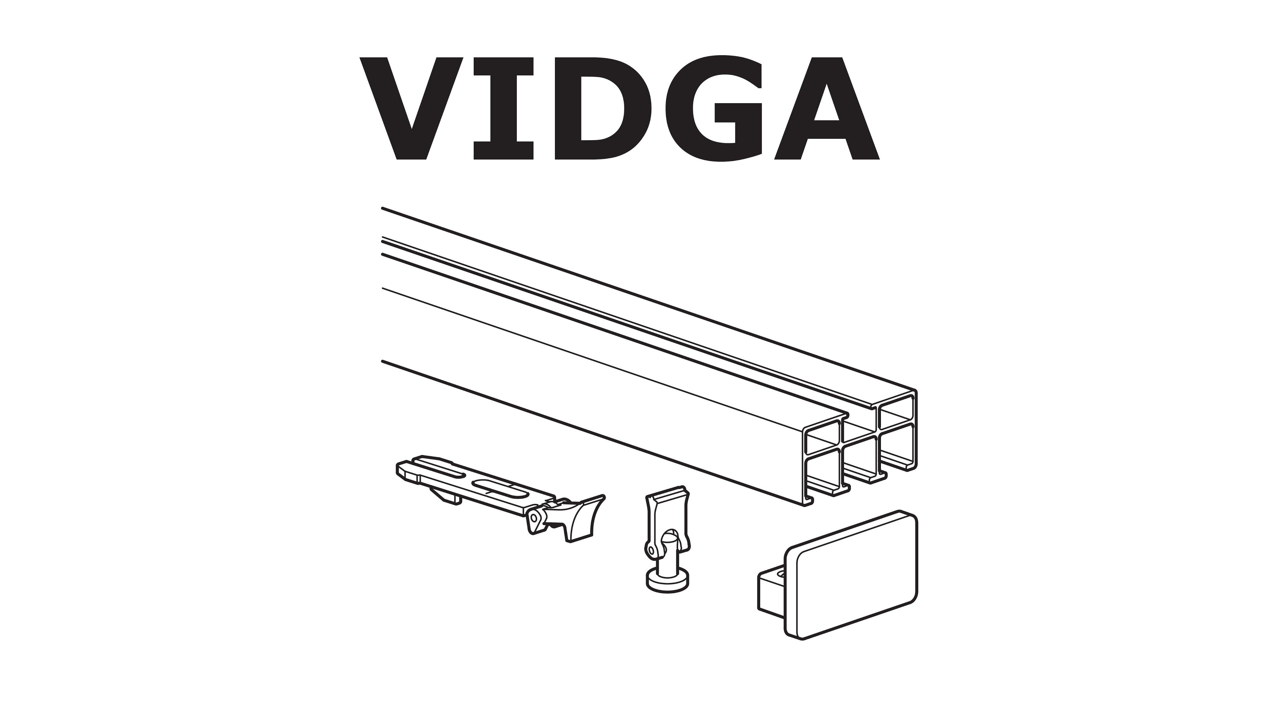 HOW TO INSTALL IKEA VIDGA RAIL: TRIPLE TRACK - YouTube