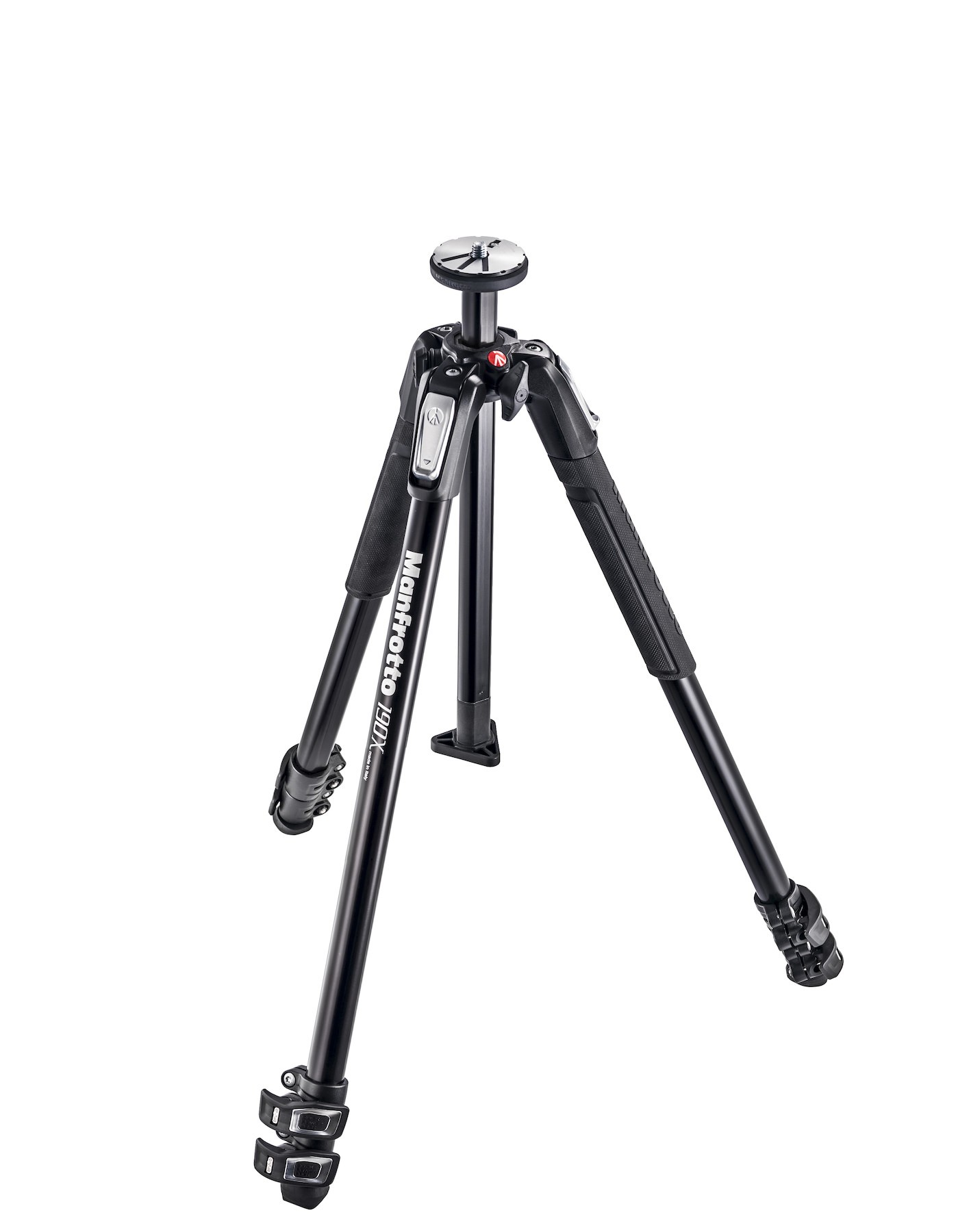 190X Aluminium 3-section camera tripod