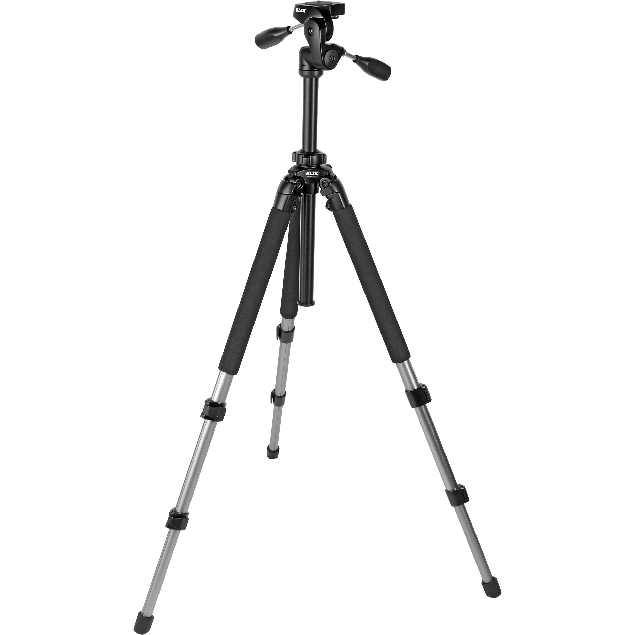 Slik Pro 700 DX Tripod with 700DX 3-Way, Pan-and-Tilt 615-315