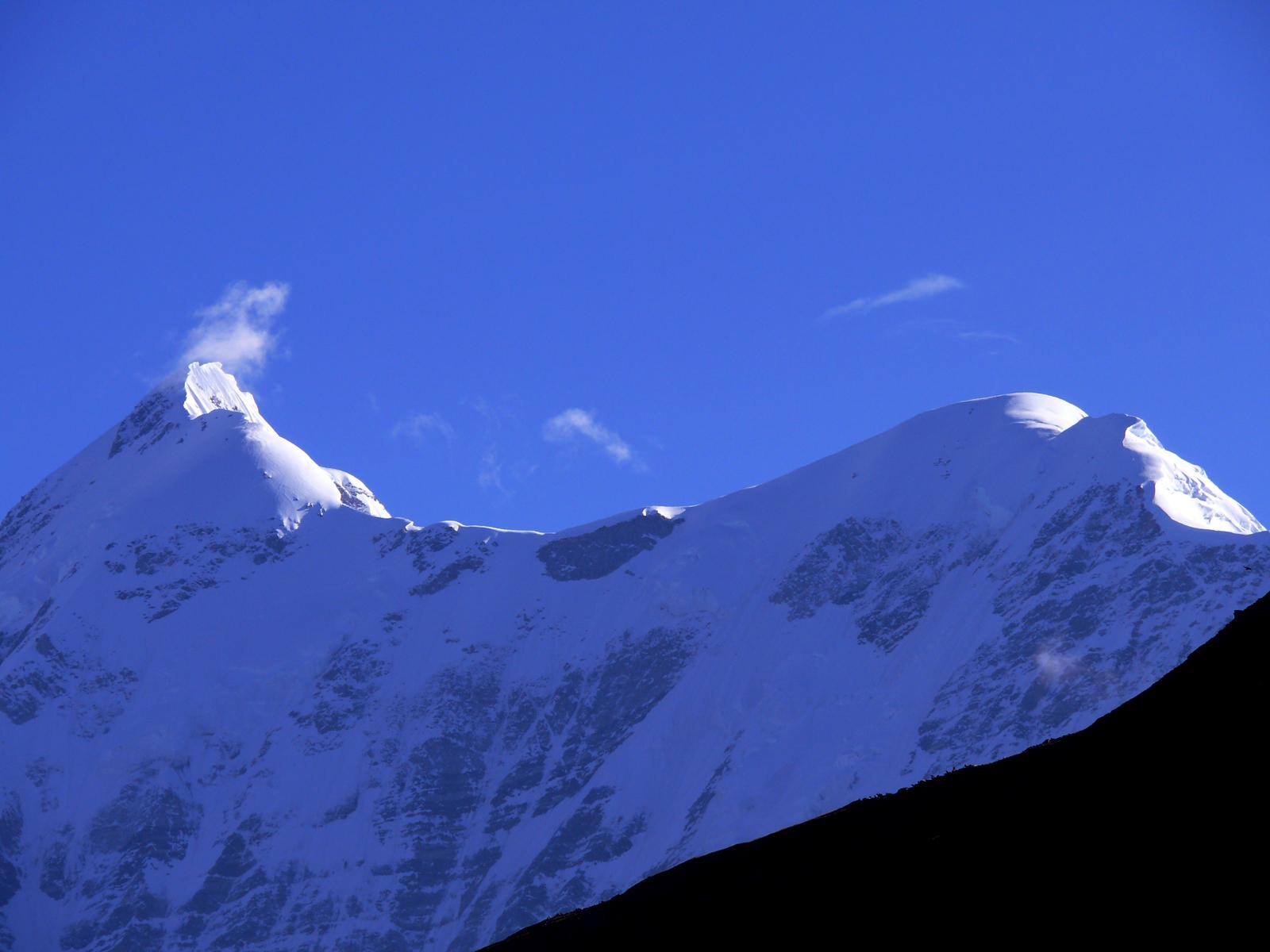 Trishul mountain photo