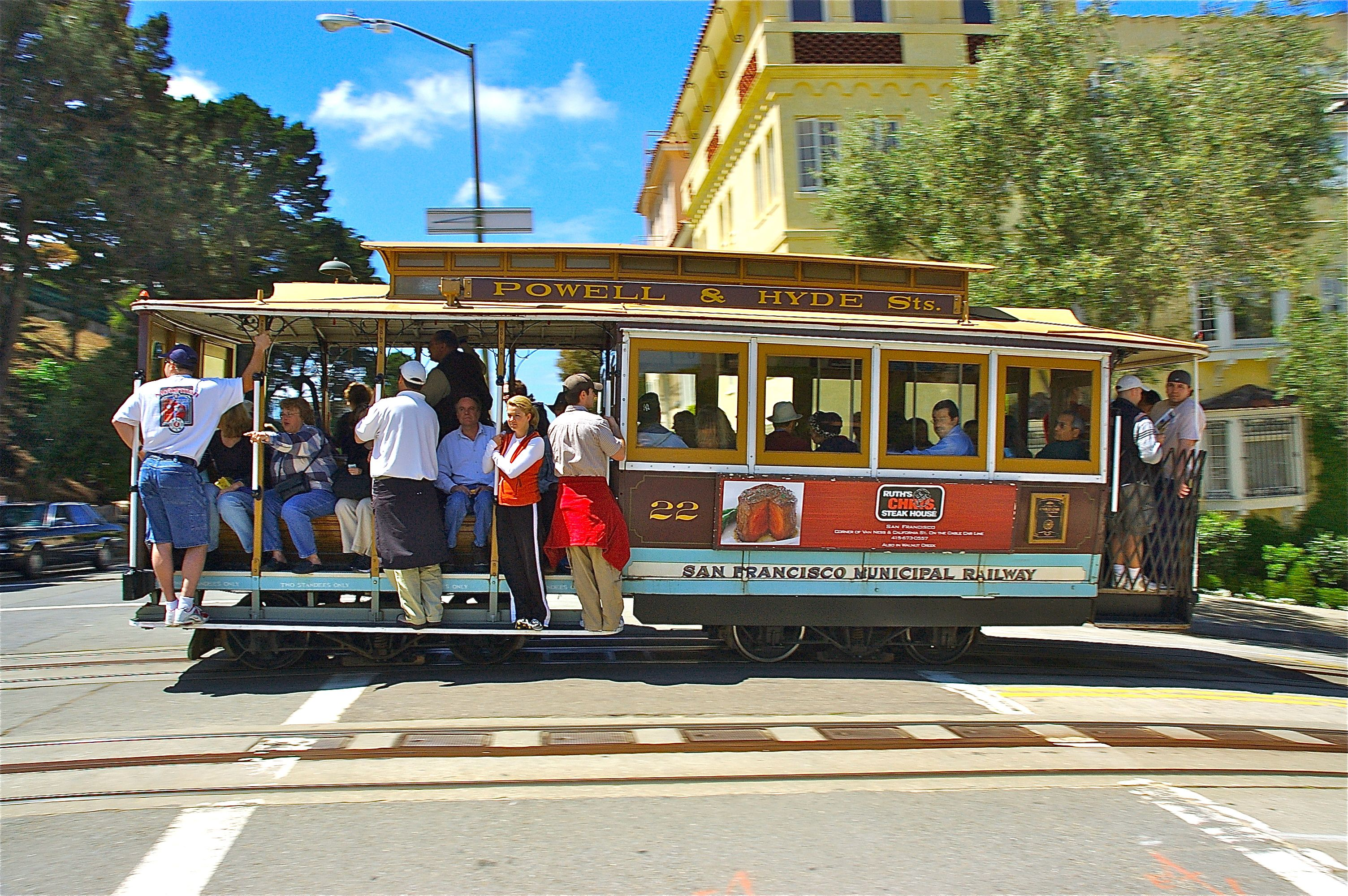 Trolley san francisco photo