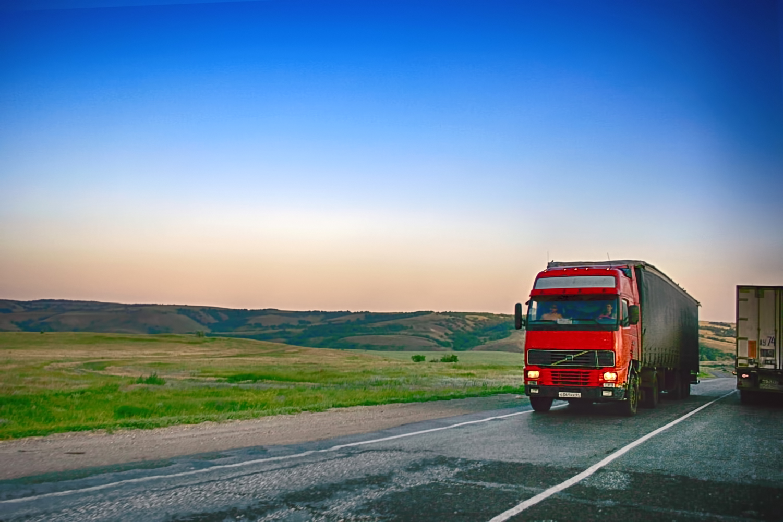 Truck, Asphalt, Traffic, Vehicle, Trucking, HQ Photo
