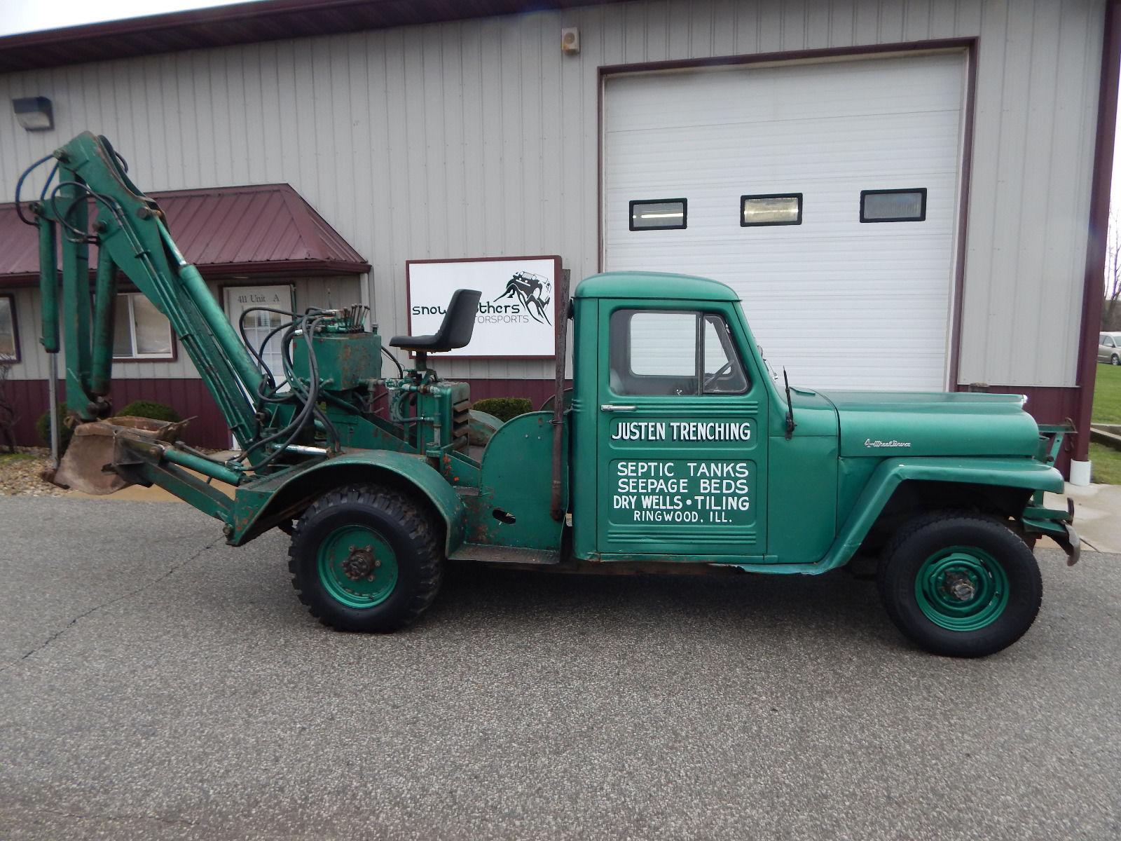 1955 Truck w/Back Hoe Schererville, IN **SOLD** | eWillys