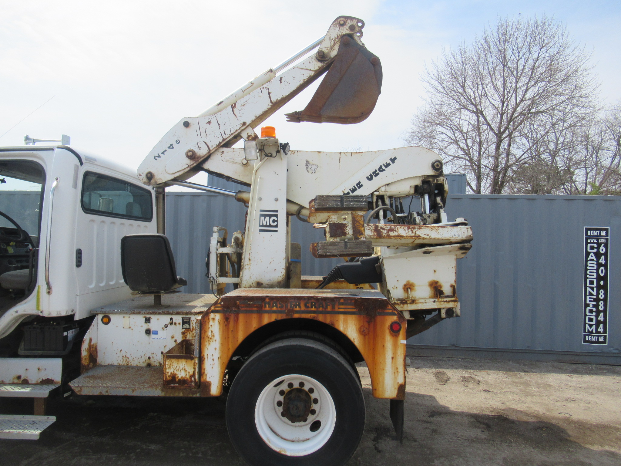 Back Hoe - Cassone Truck and Equipment Sales