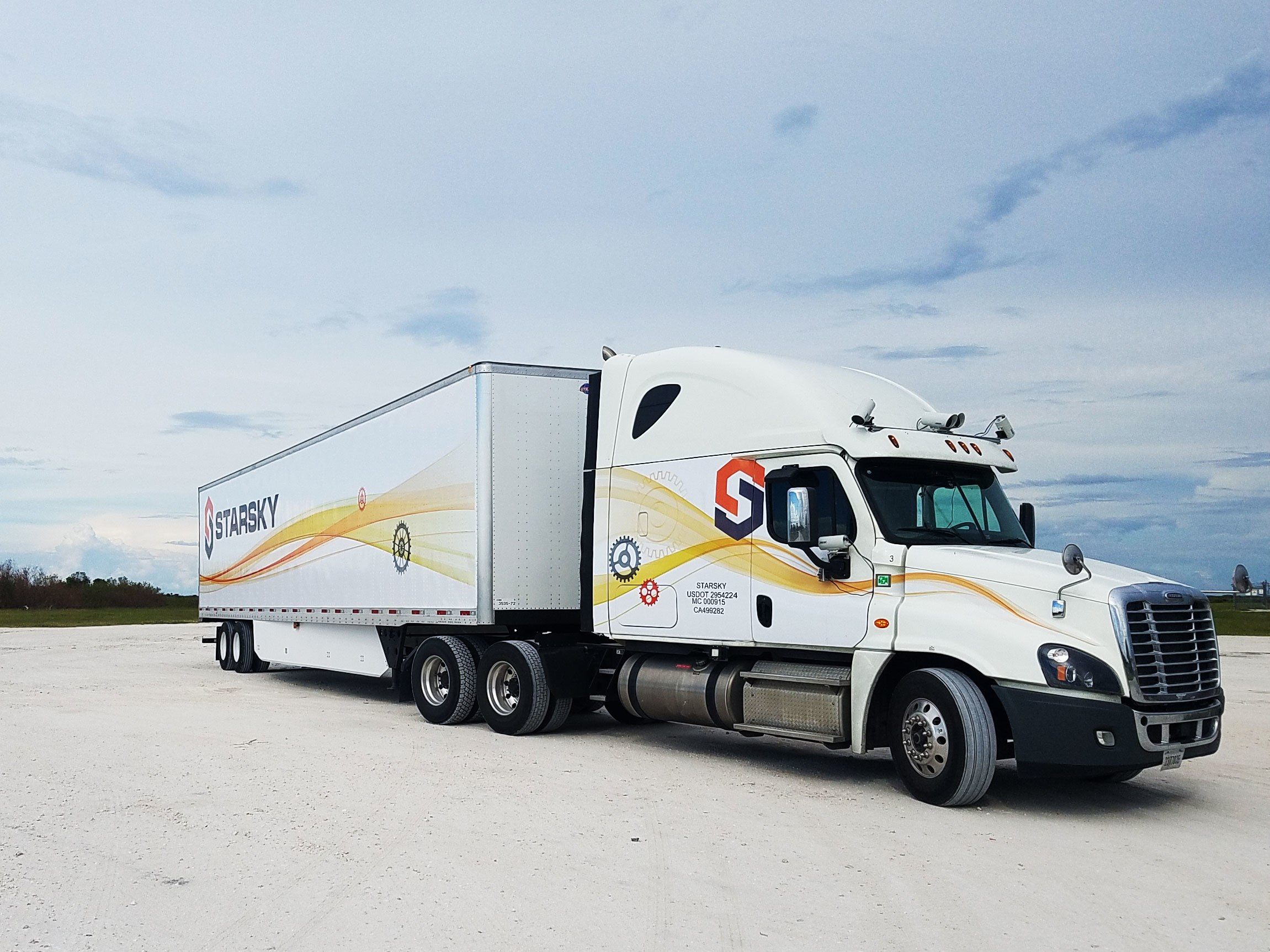 Starsky Robotics' Truck Takes Its First Human-Free Trip | WIRED