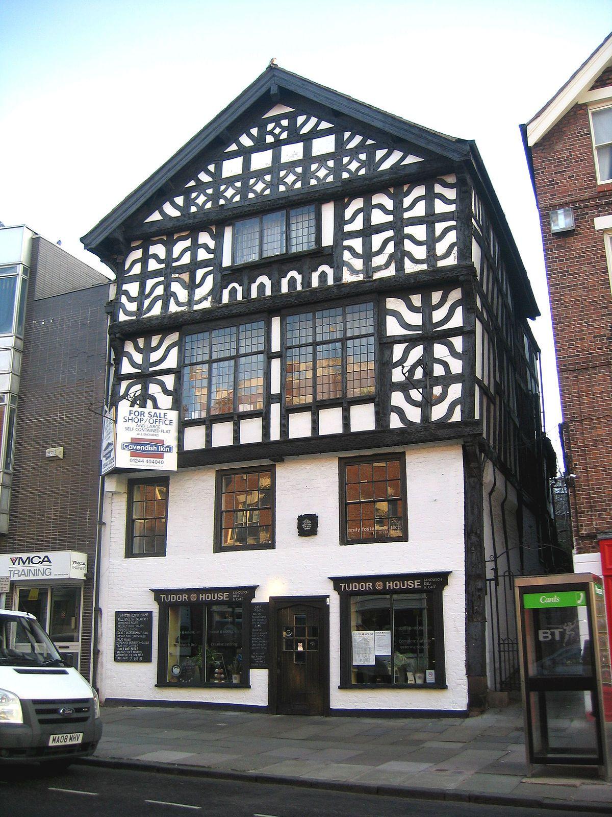 Tudor building photo
