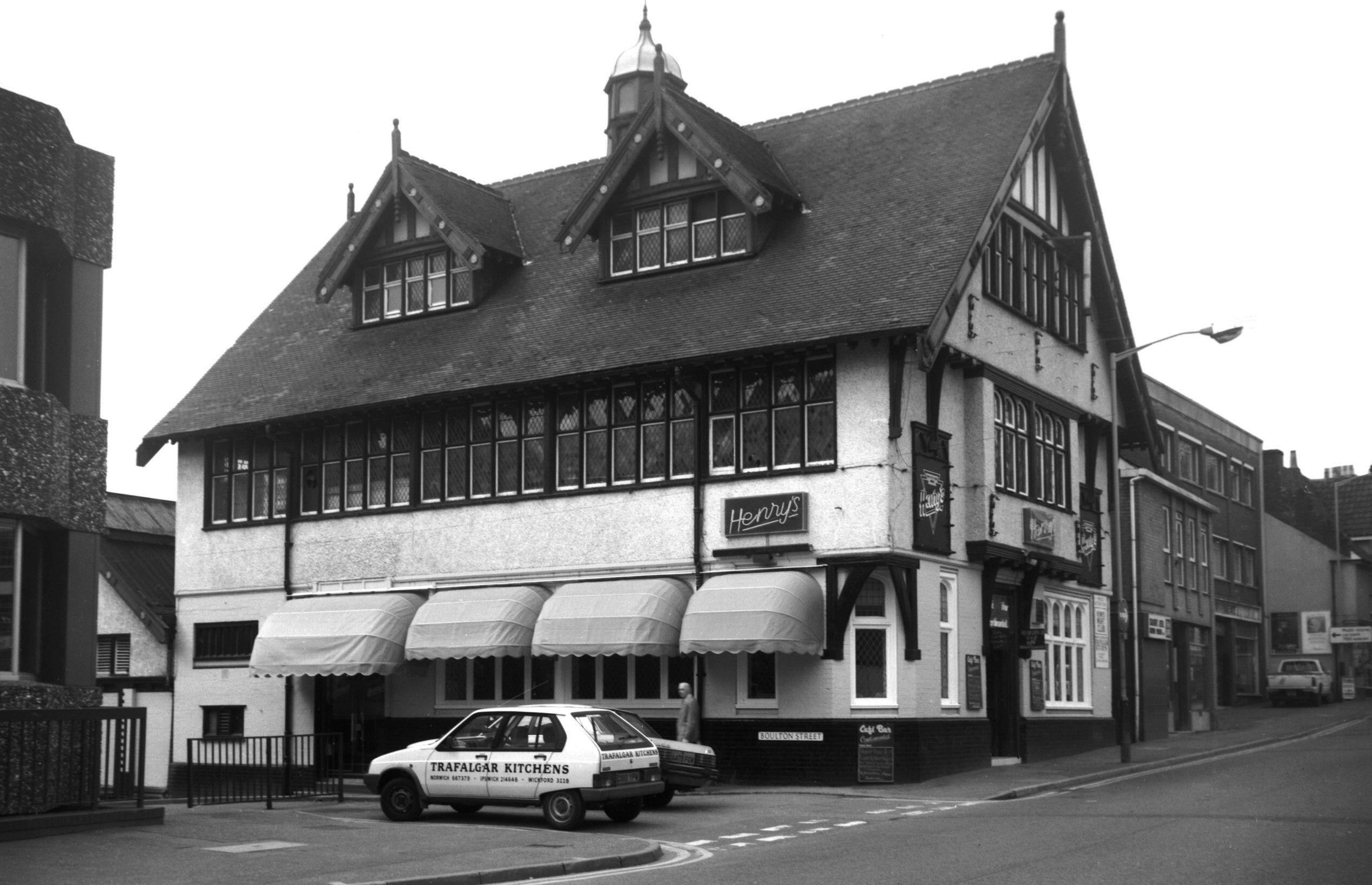 Tudor Hall | 'Norwich' in days gone by ... | Pinterest | Norfolk