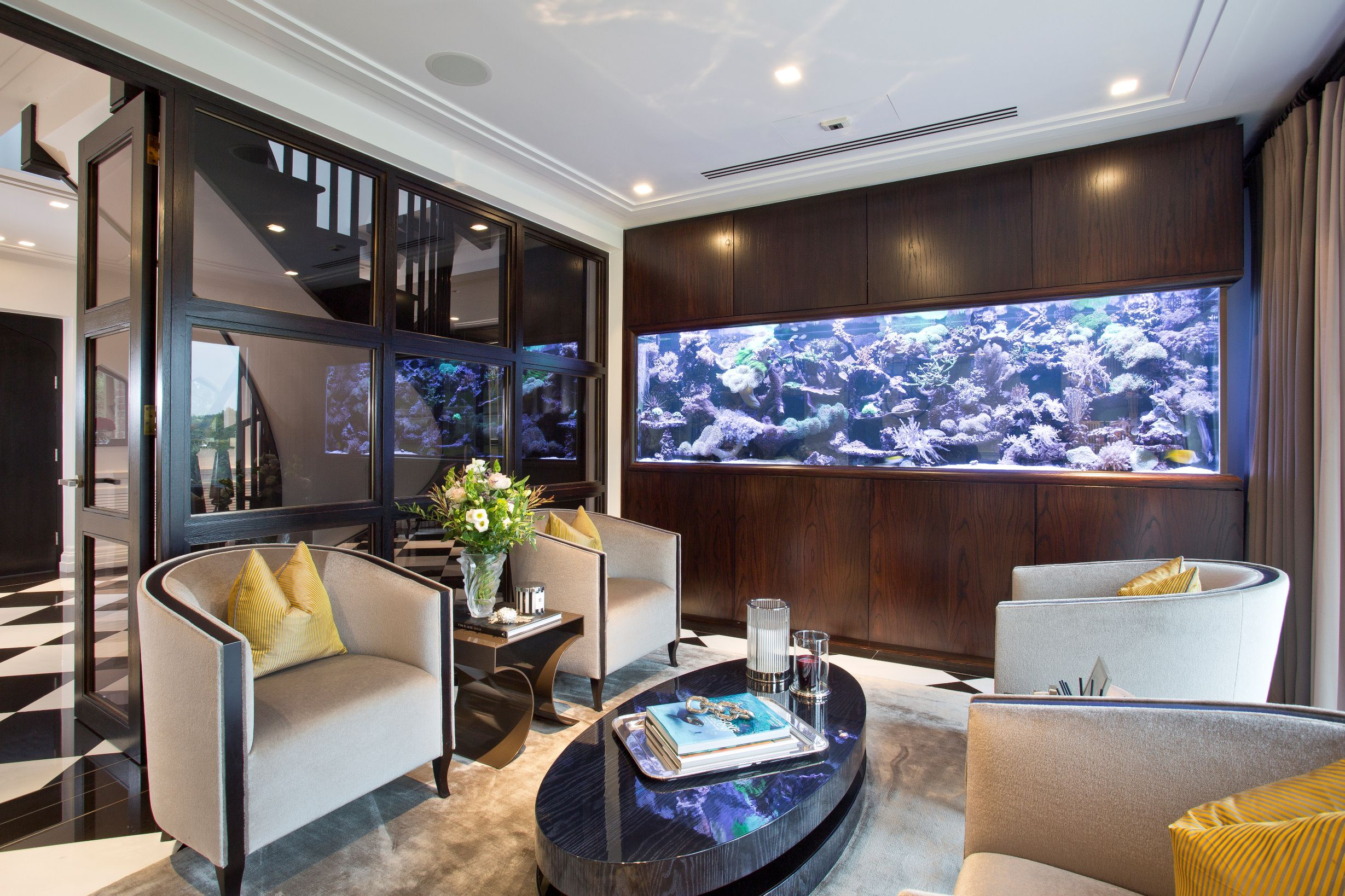 Property of the week: Large aquarium is highlight of stunning ...