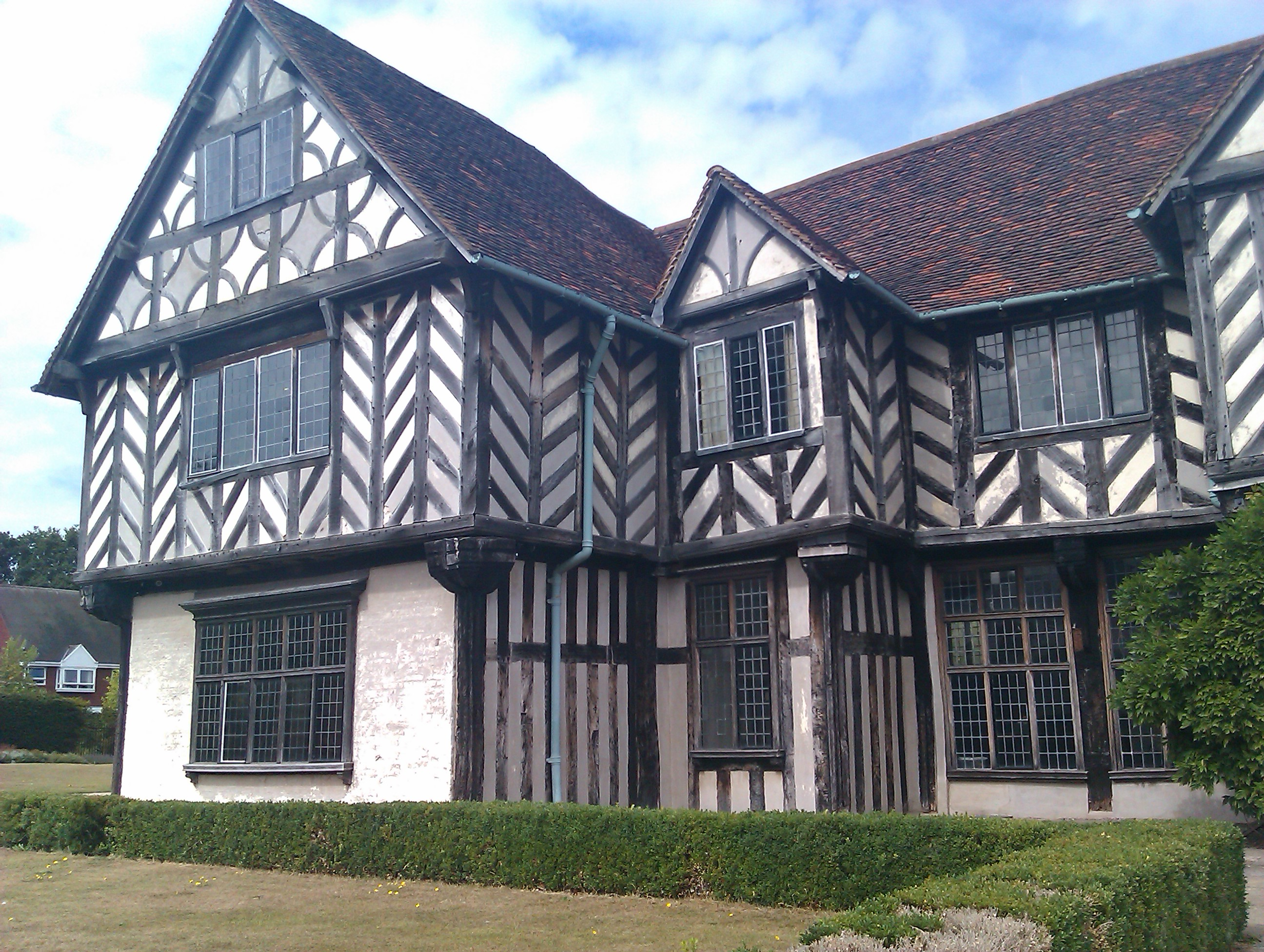 Tudor hall, Architecture, Beams, Birmingham, Farmhouse, HQ Photo