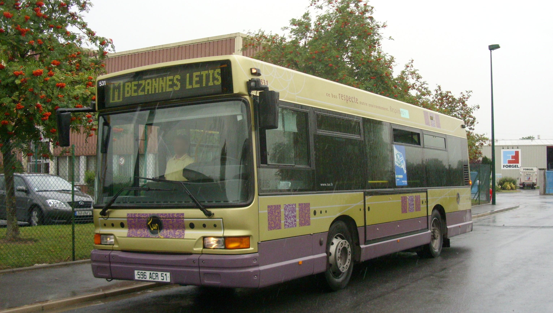 Tur - heuliez bus gx 117 n°531 - ligne m photo